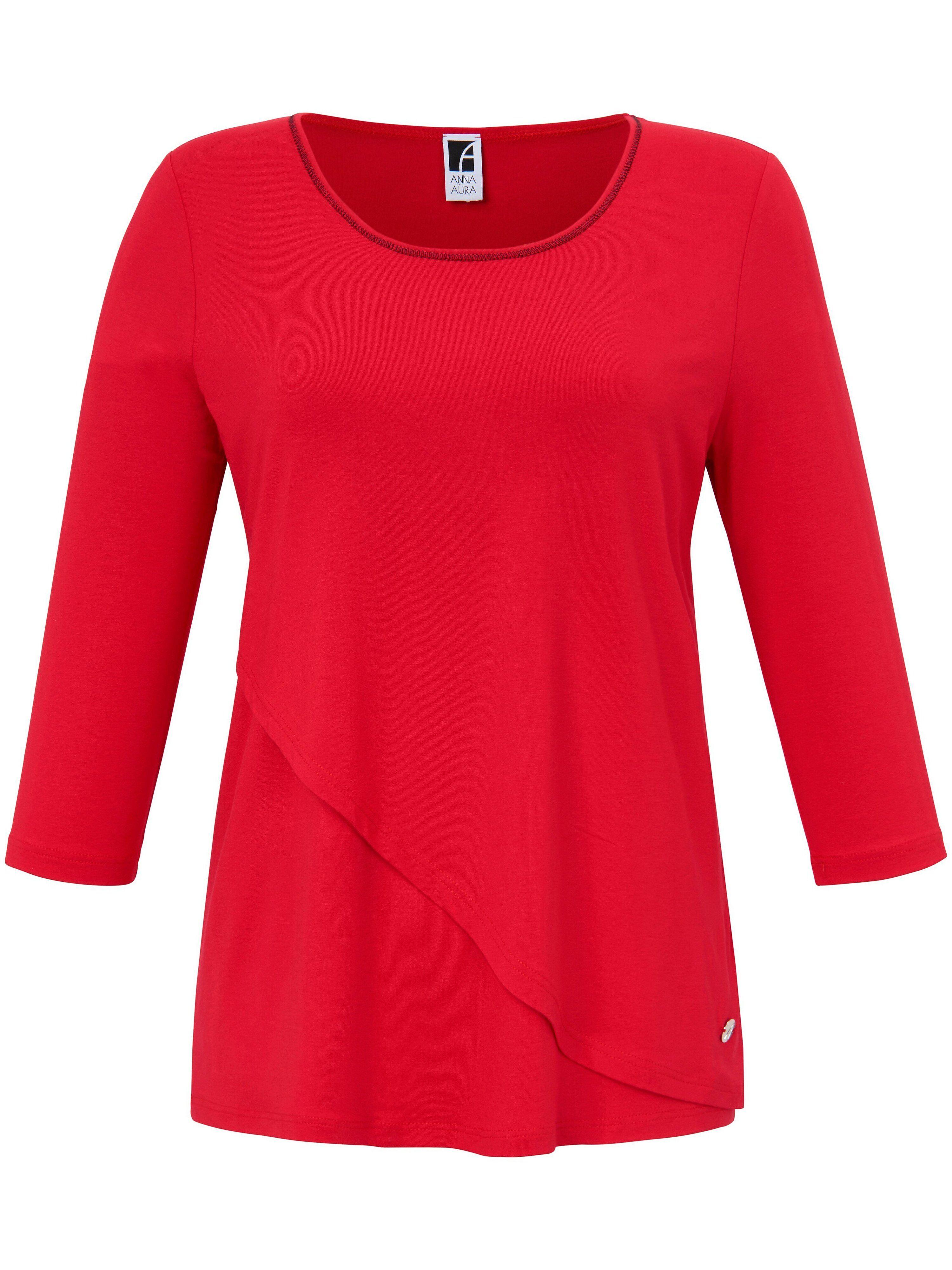 Anna Aura Le T-shirt manches 3/4  Anna Aura rouge  - Femme - 42
