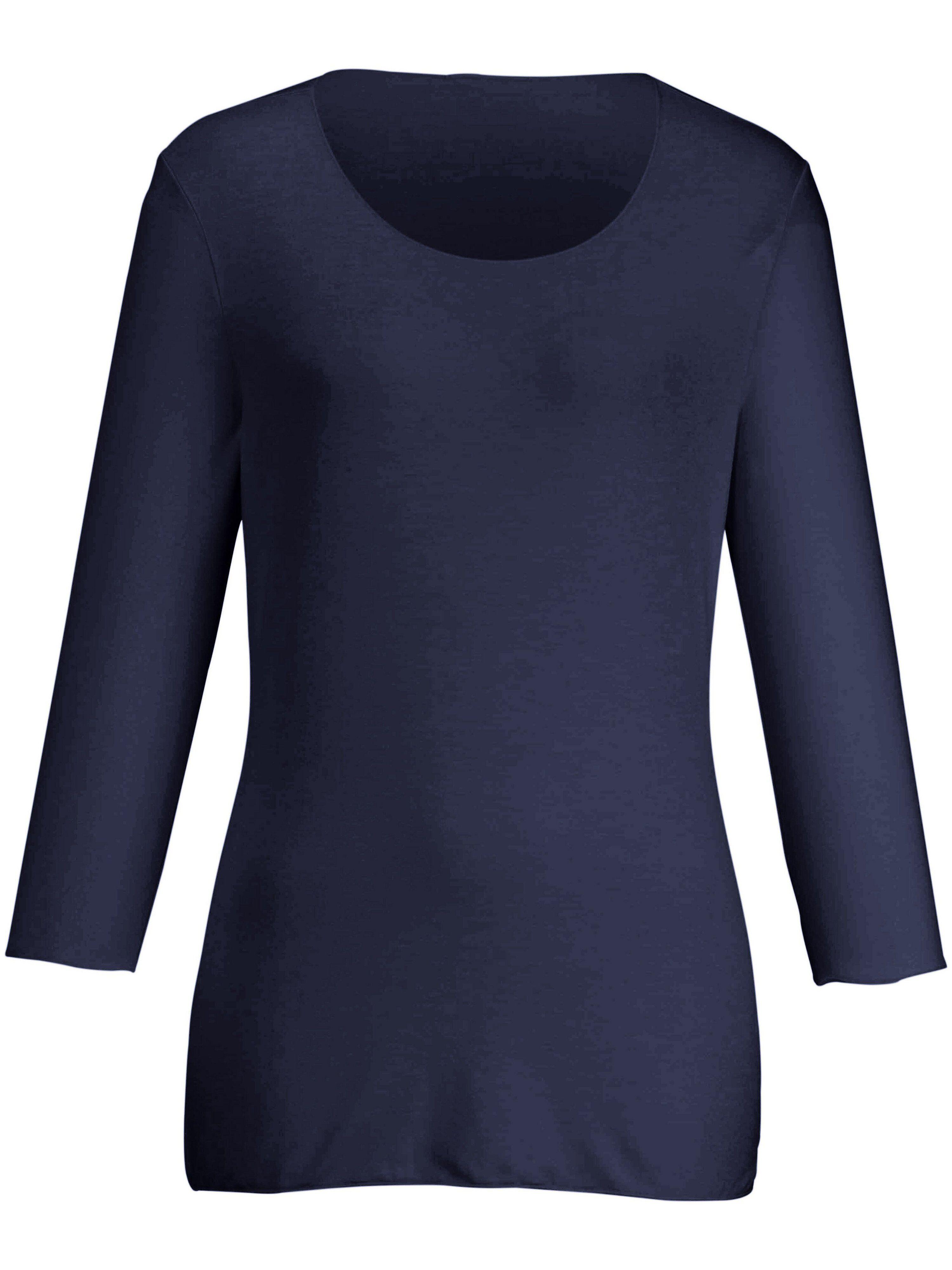 Peter Hahn Le T-shirt manches 3/4  Peter Hahn bleu  - Femme - 38