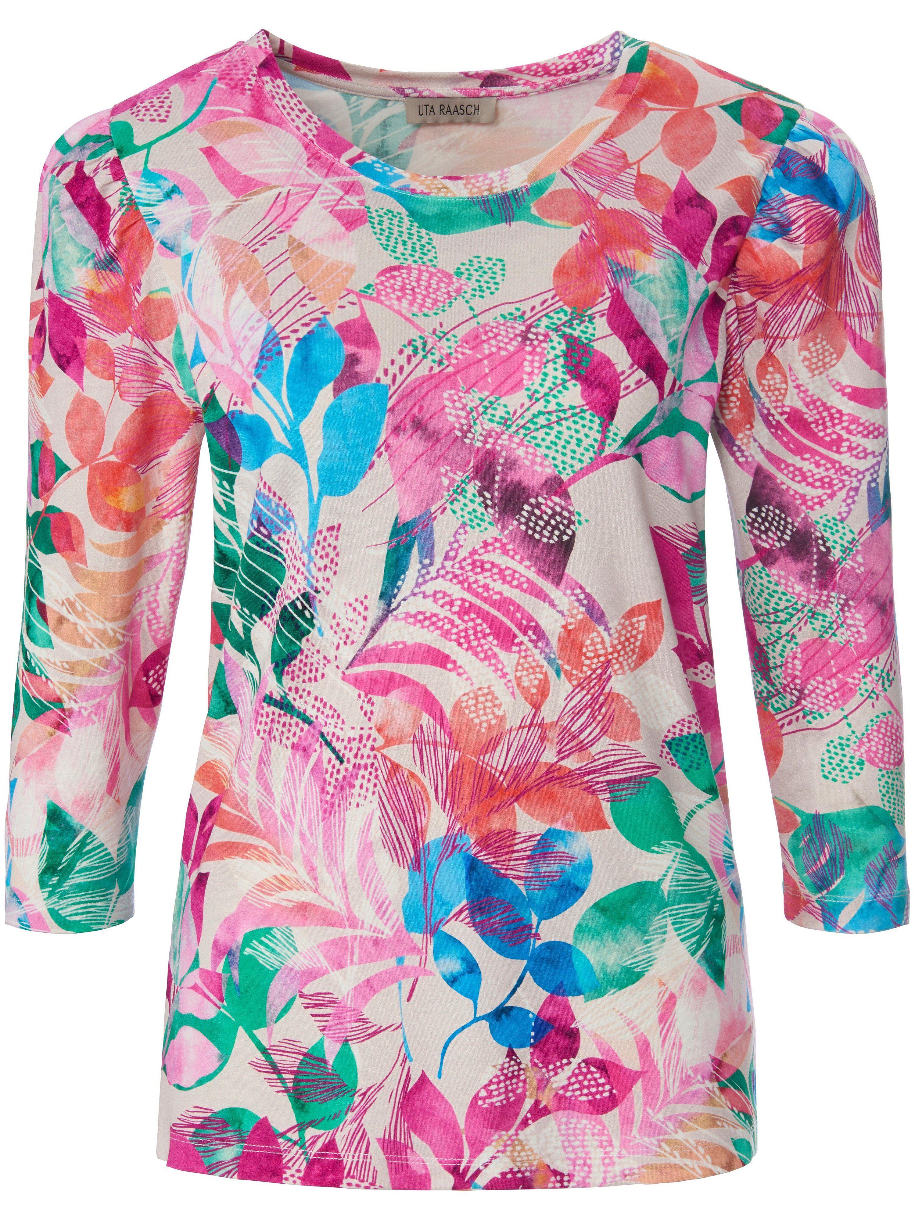 Uta Raasch Le T-shirt avec encolure ronde et manches 3/4  Uta Raasch multicolore  - Femme - 40