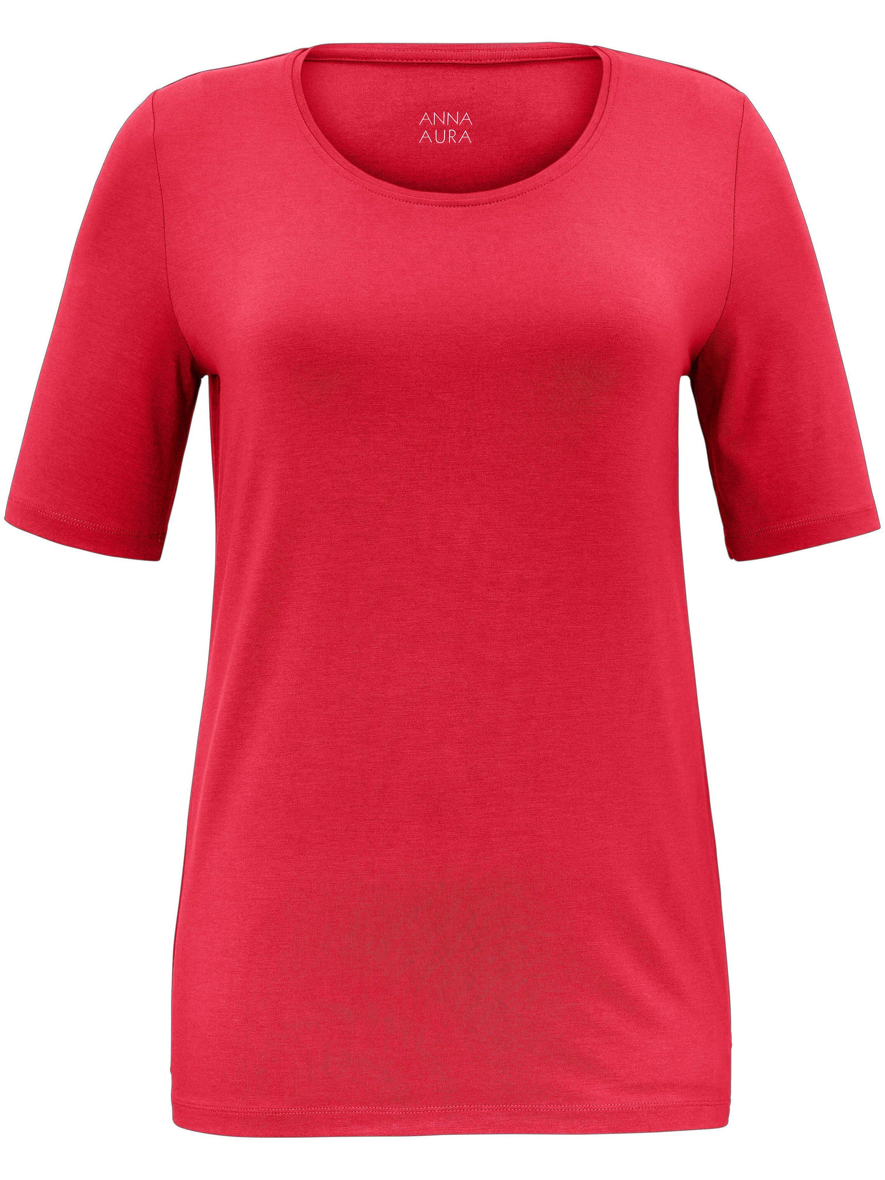 Anna Aura Le T-shirt facile d'entretien  Anna Aura rouge  - Femme - 42
