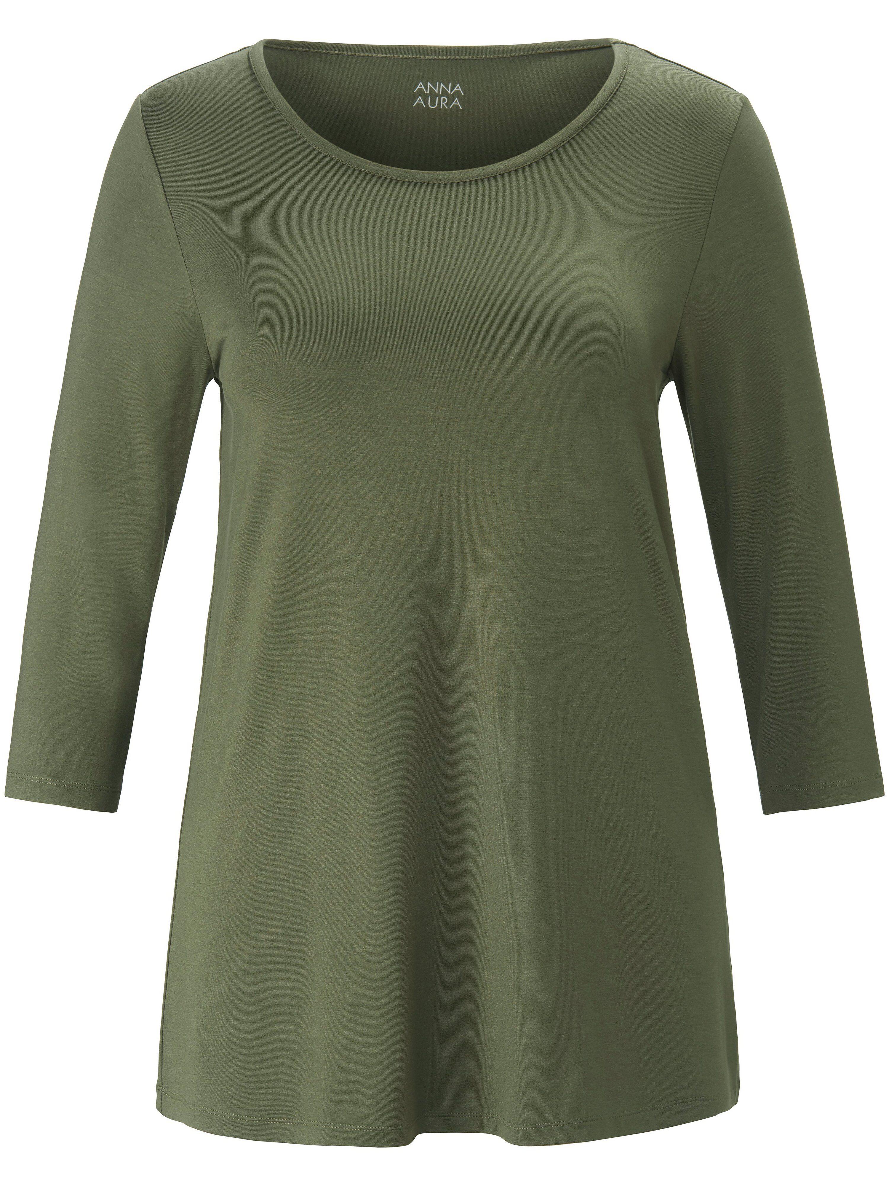 Anna Aura Le T-shirt manches 3/4  Anna Aura vert  - Femme - 42
