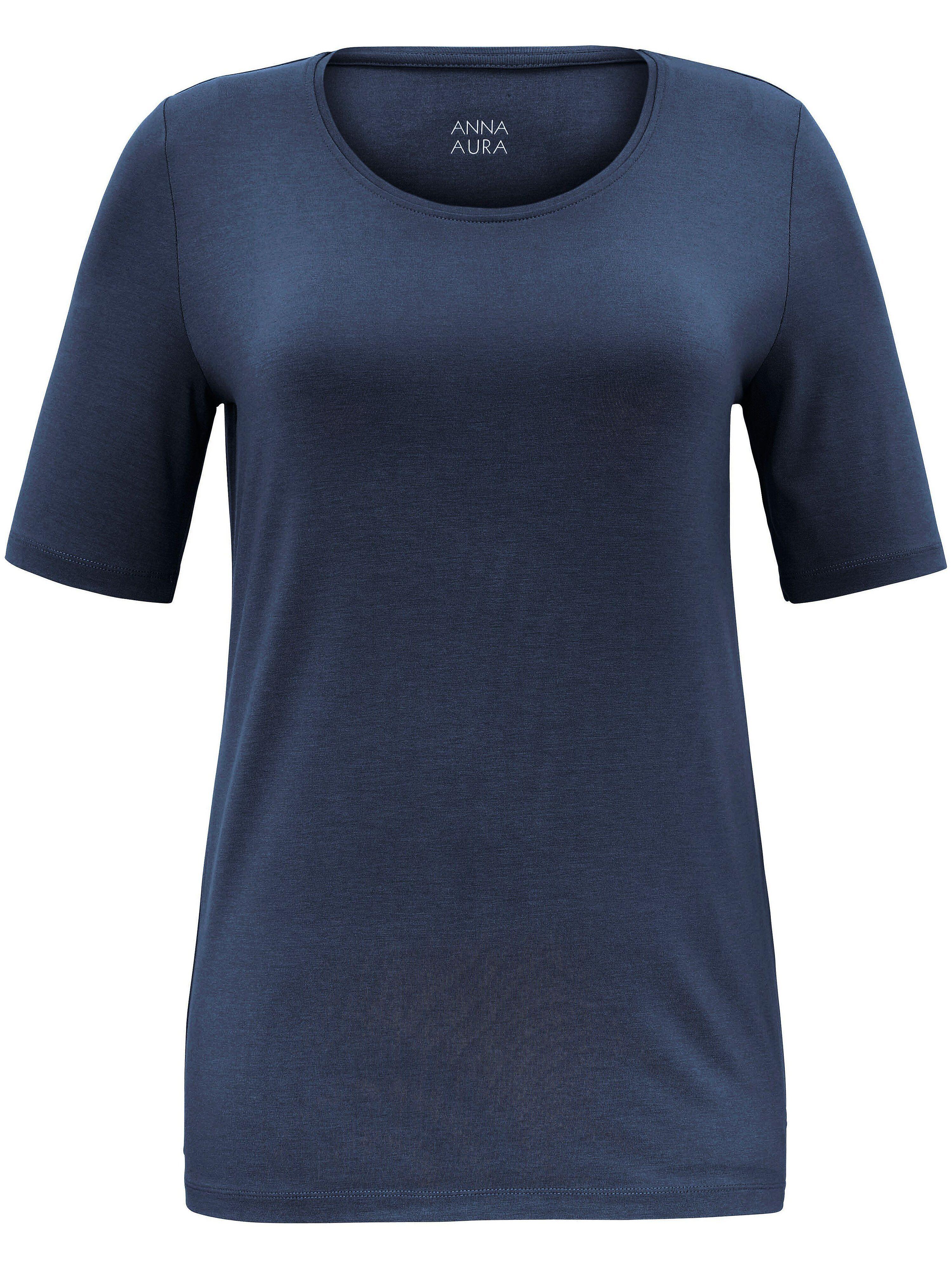 Anna Aura Le T-shirt facile d'entretien  Anna Aura bleu  - Femme - 46