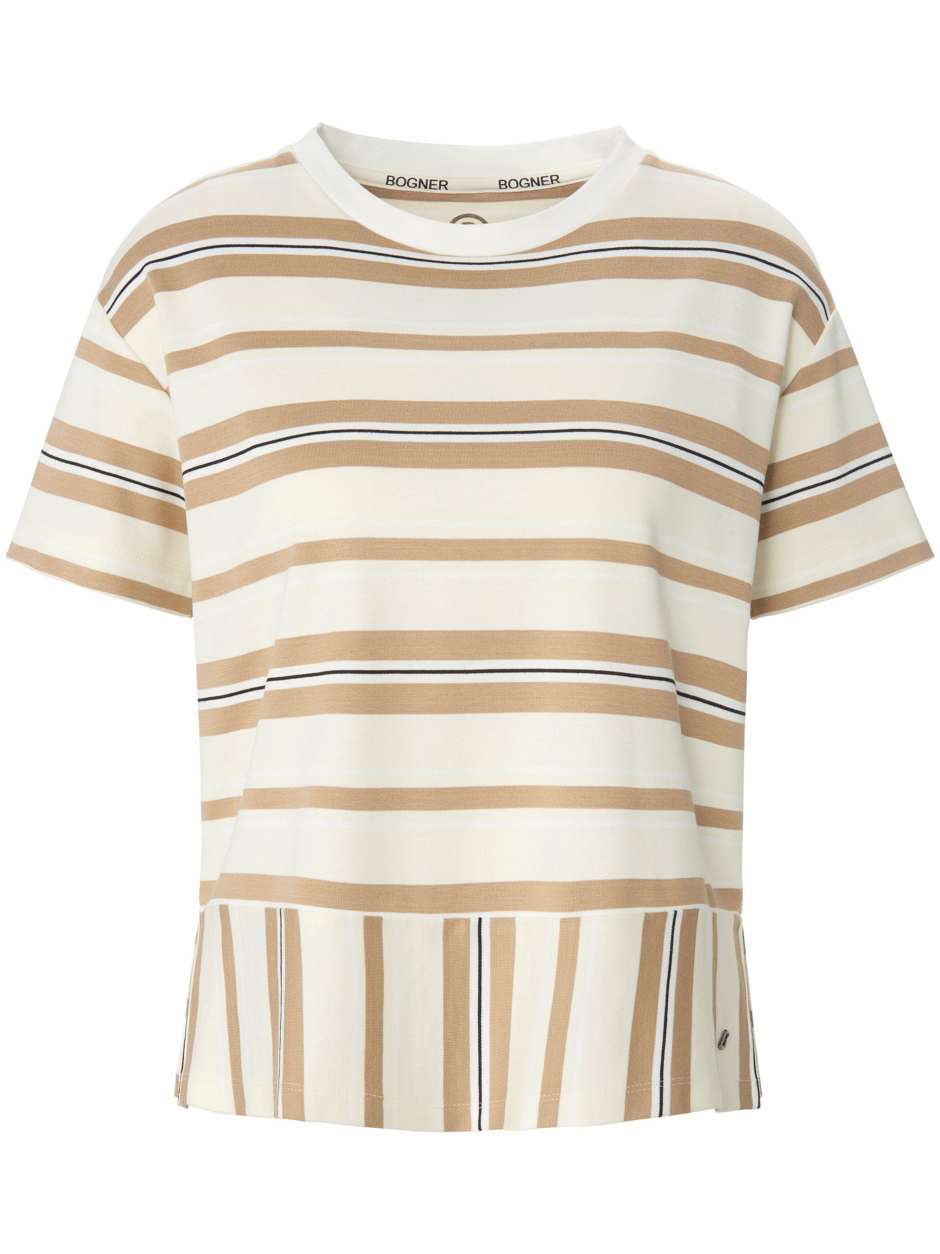 Bogner Le T-shirt avec fente sur les côtés  Bogner beige  - Femme - 42