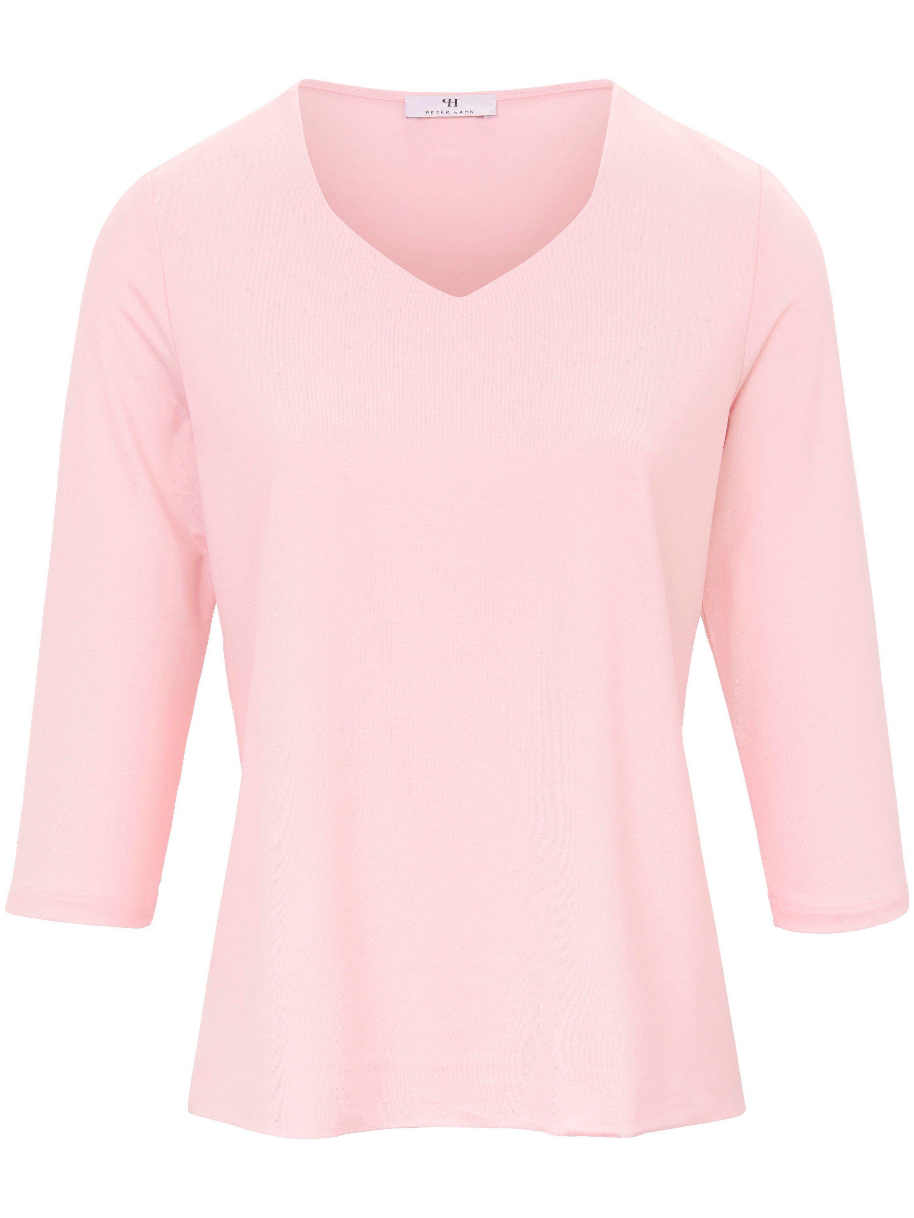 Peter Hahn Le T-shirt manches 3/4  Peter Hahn rose  - Femme - 38