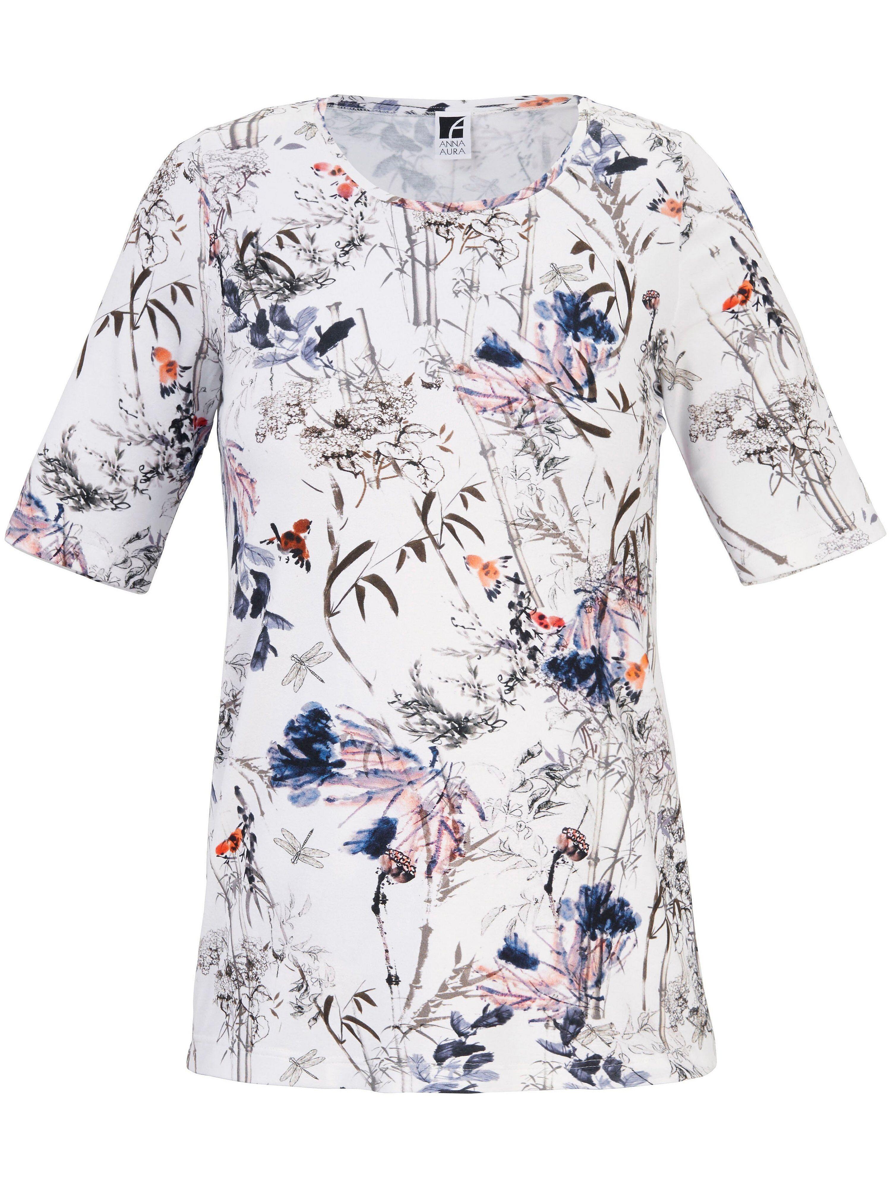 Anna Aura Le T-shirt imprimé, ligne décontractée  Anna Aura blanc  - Femme - 42