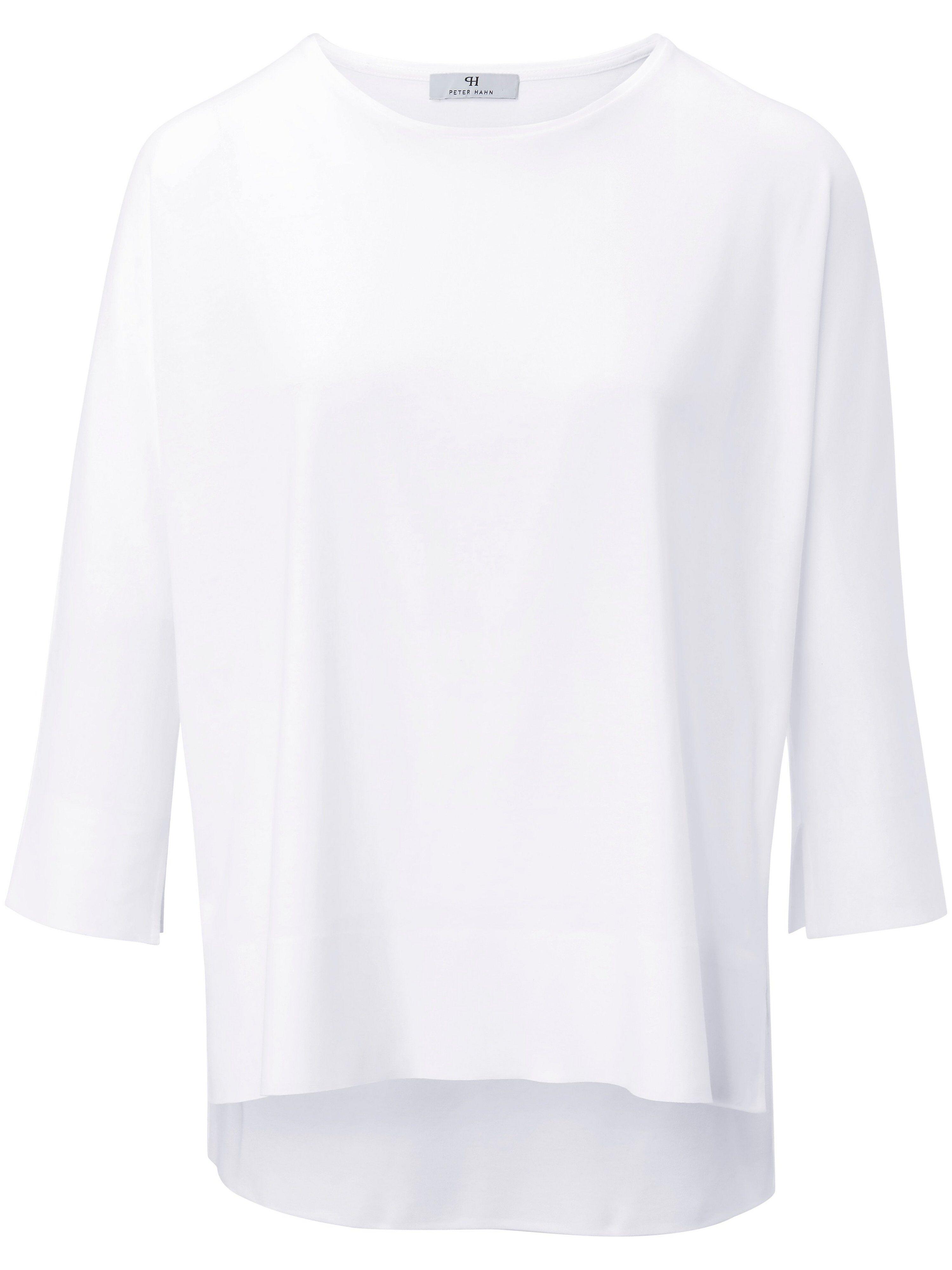 Peter Hahn Le T-shirt 100% coton à manches 3/4  Peter Hahn blanc  - Femme - 38