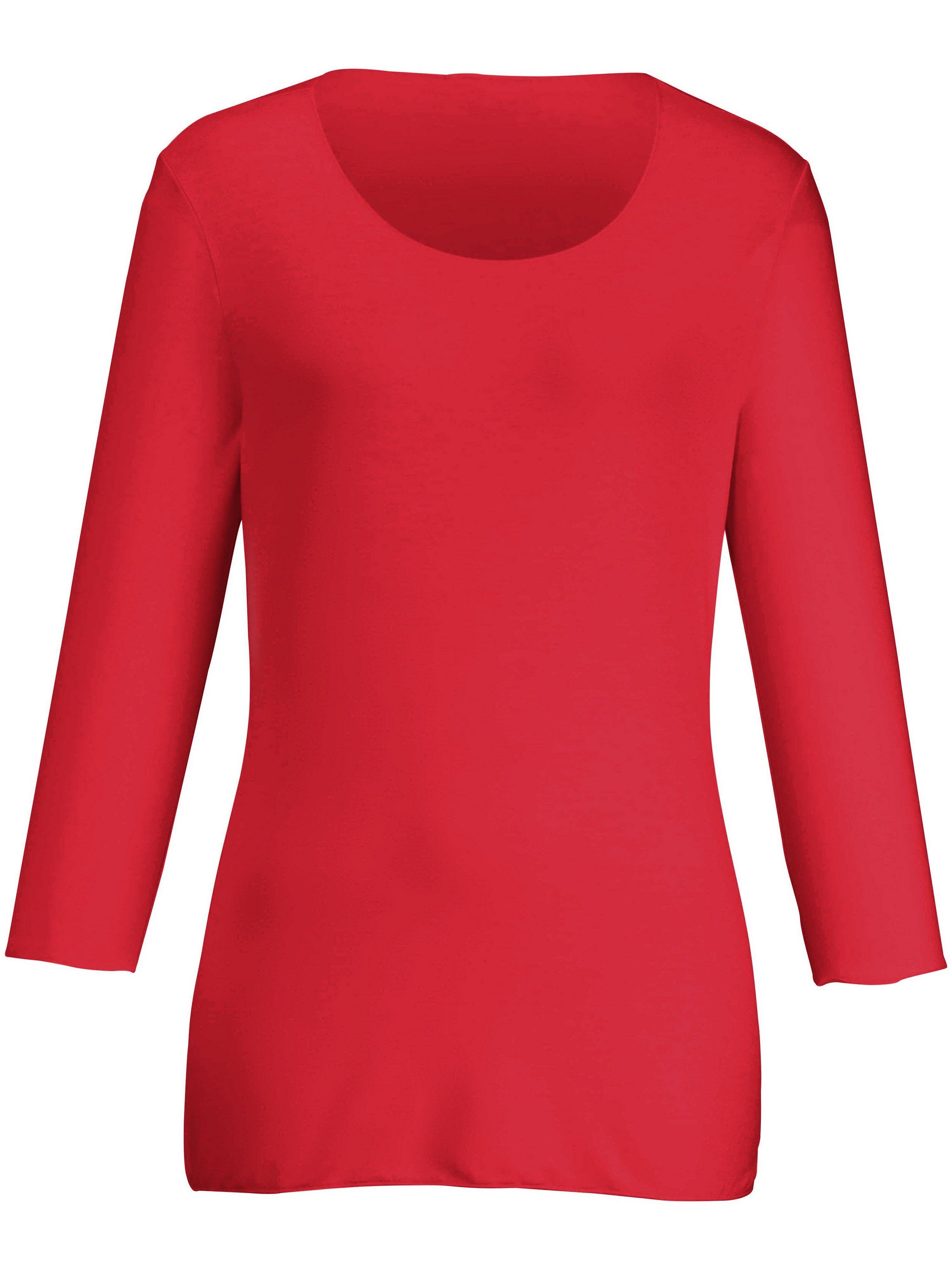 Peter Hahn Le T-shirt manches 3/4  Peter Hahn rouge  - Femme - 38