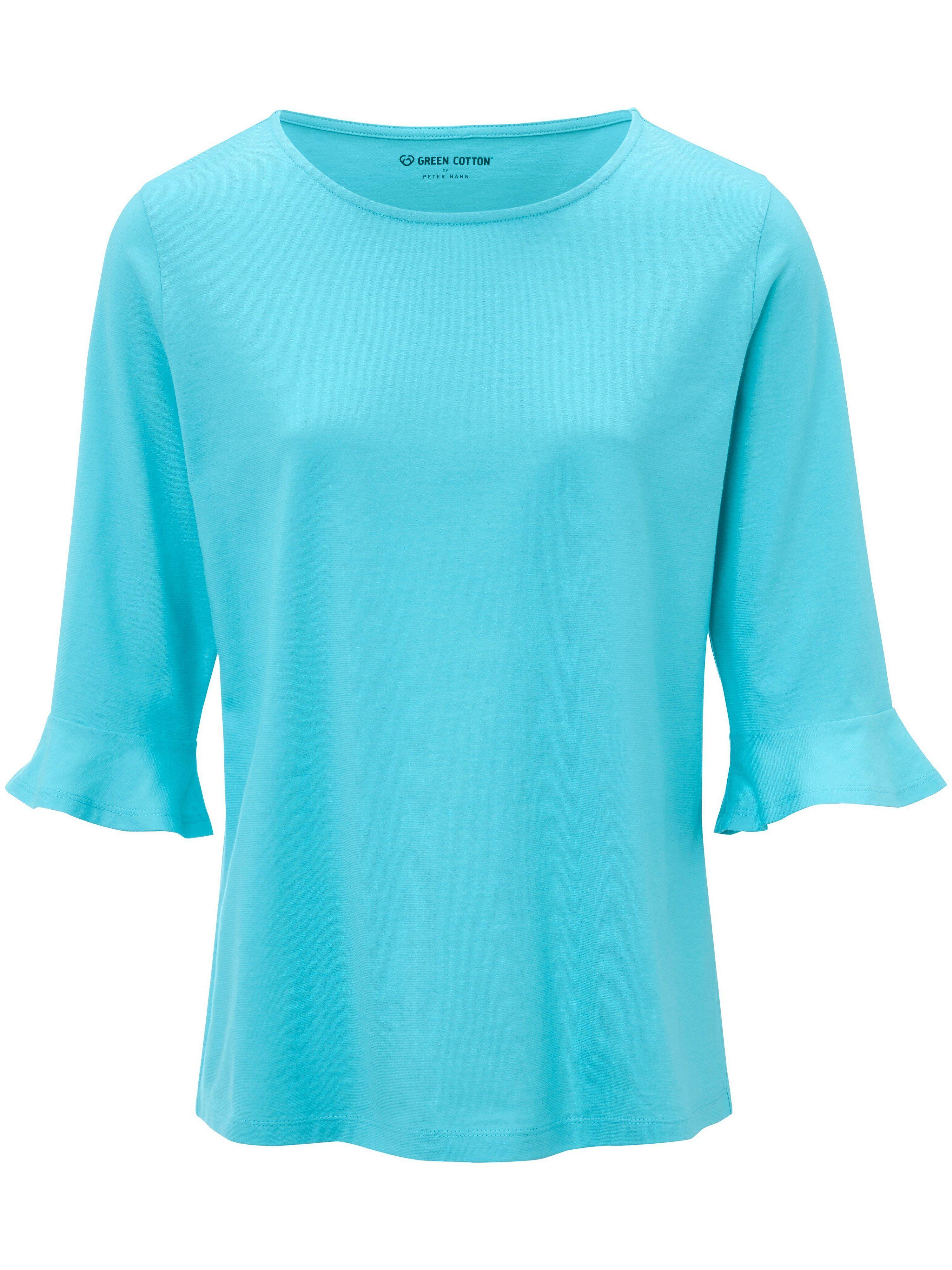 Green Cotton Le T-shirt 100% coton manches 3/4  Green Cotton turquoise  - Femme - 40