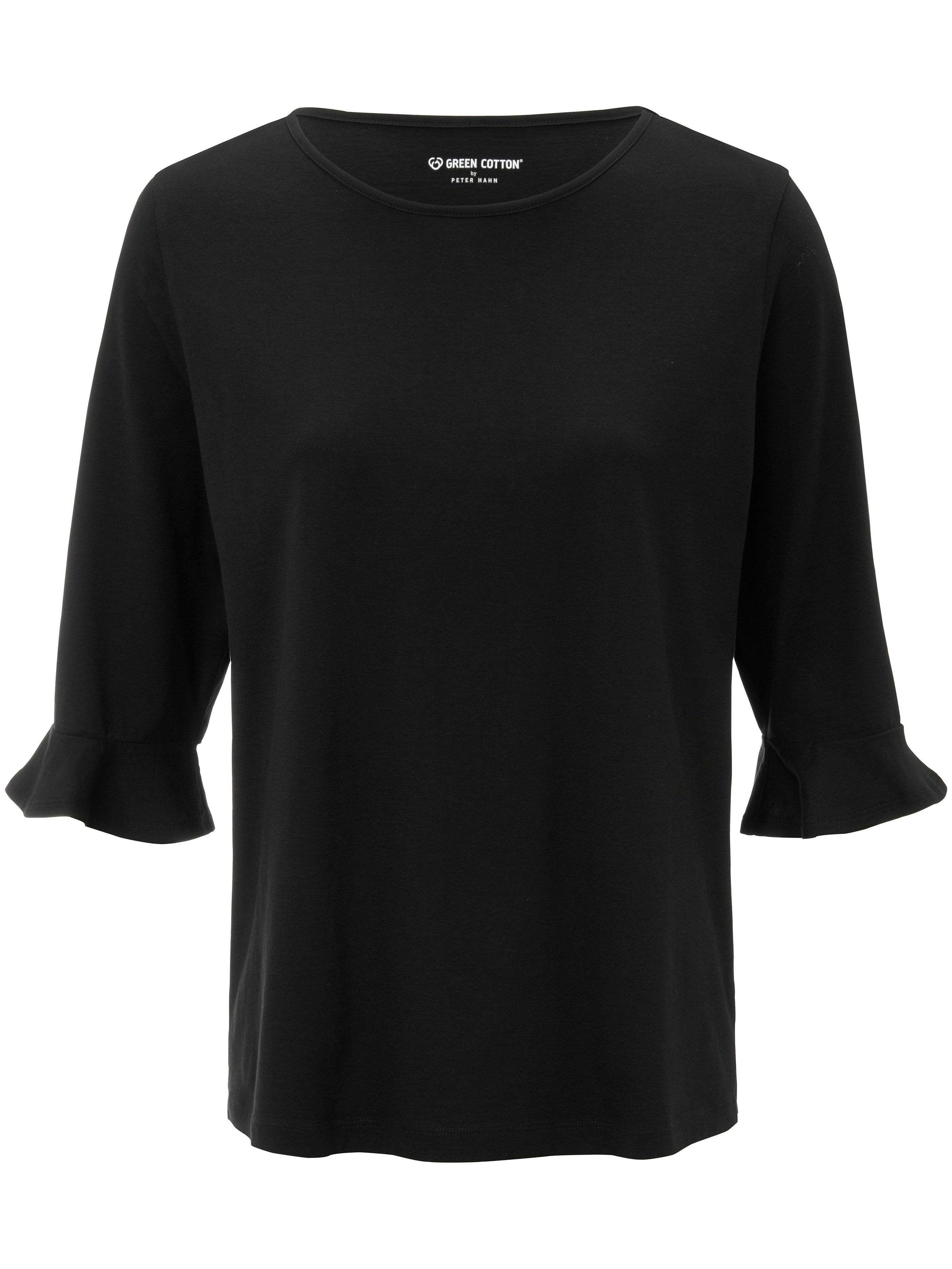 Green Cotton Le T-shirt 100% coton manches 3/4  Green Cotton noir  - Femme - 40