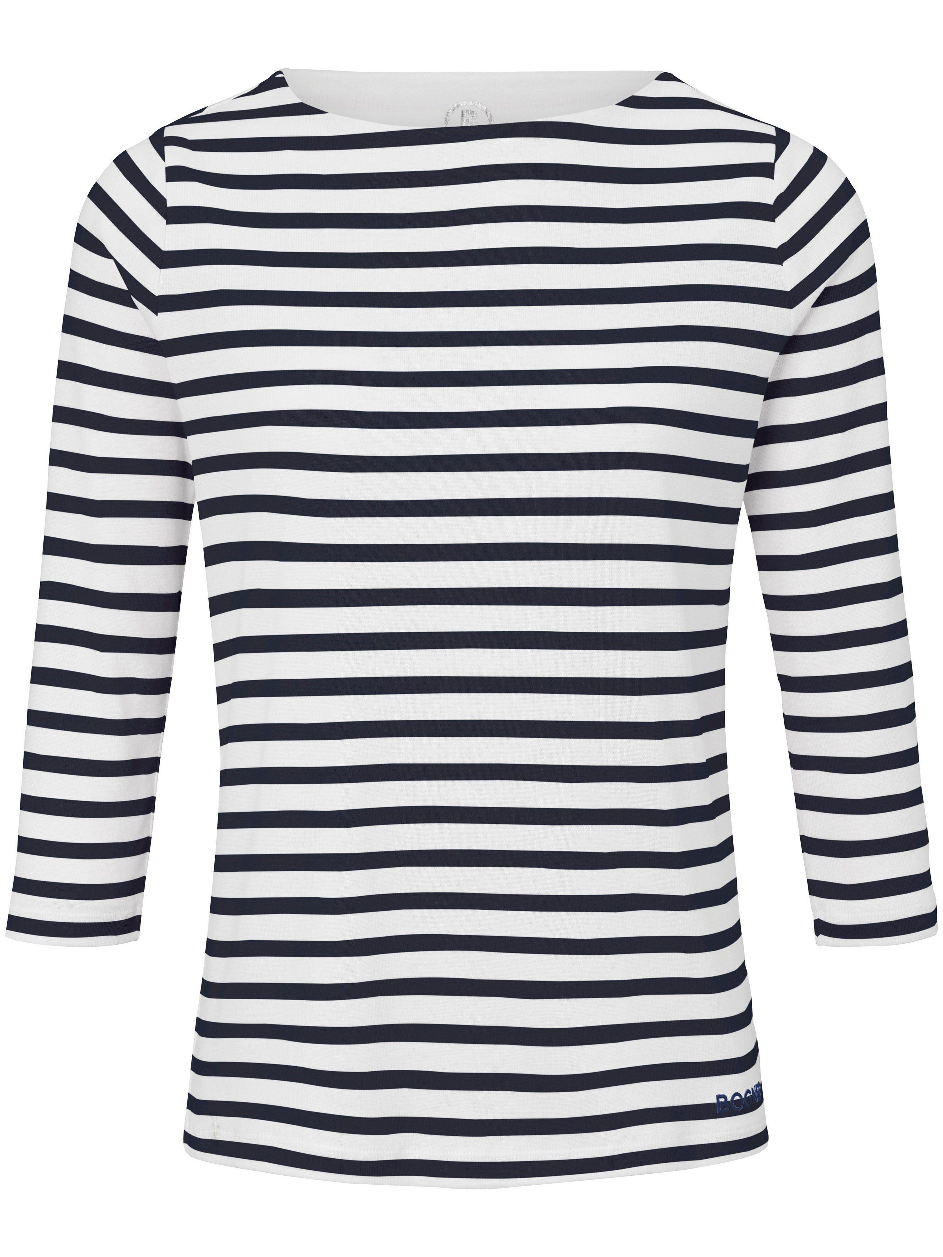 Bogner Le T-shirt 100% coton manches 3/4  Bogner blanc  - Femme - 42