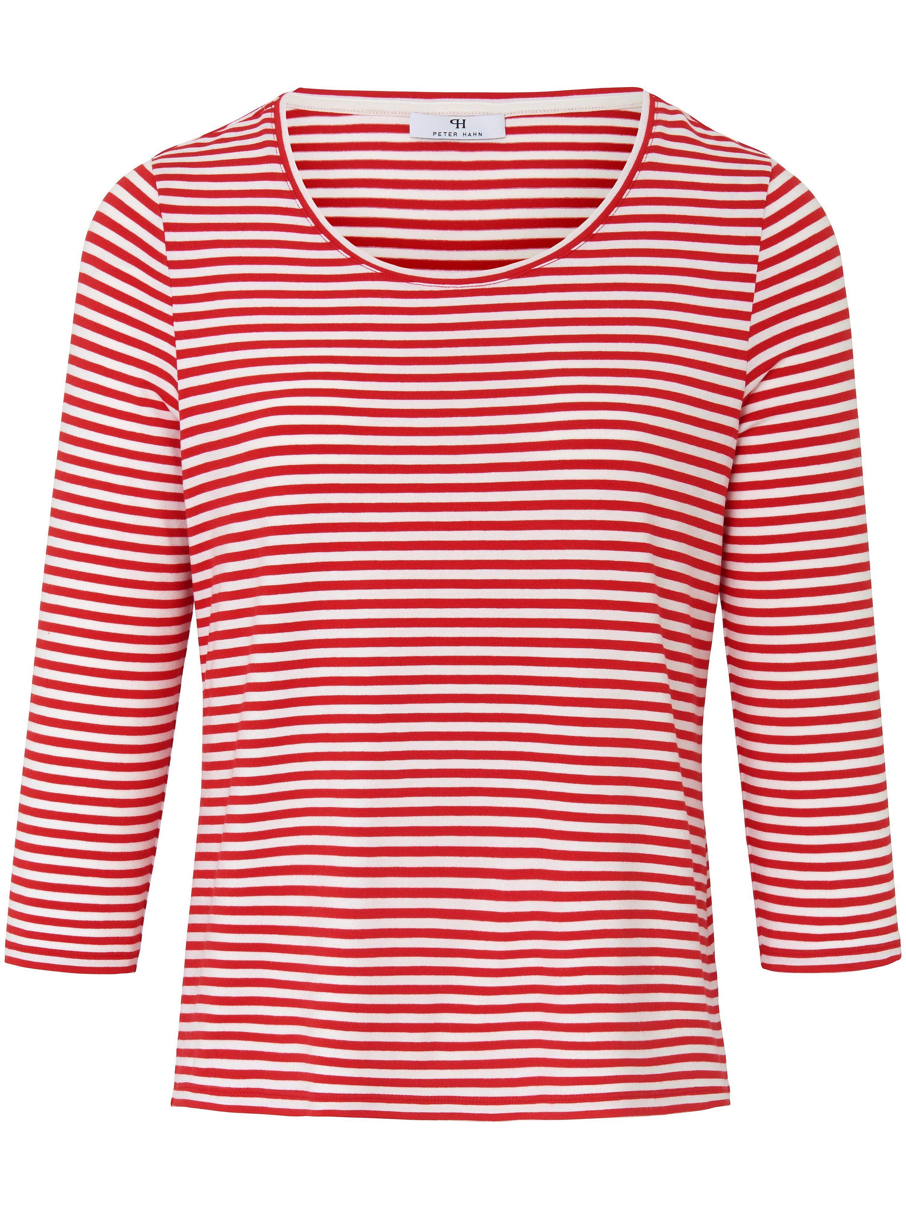 Peter Hahn Le T-shirt à manches 3/4 avec encolure dégagée  Peter Hahn rouge  - Femme - 38