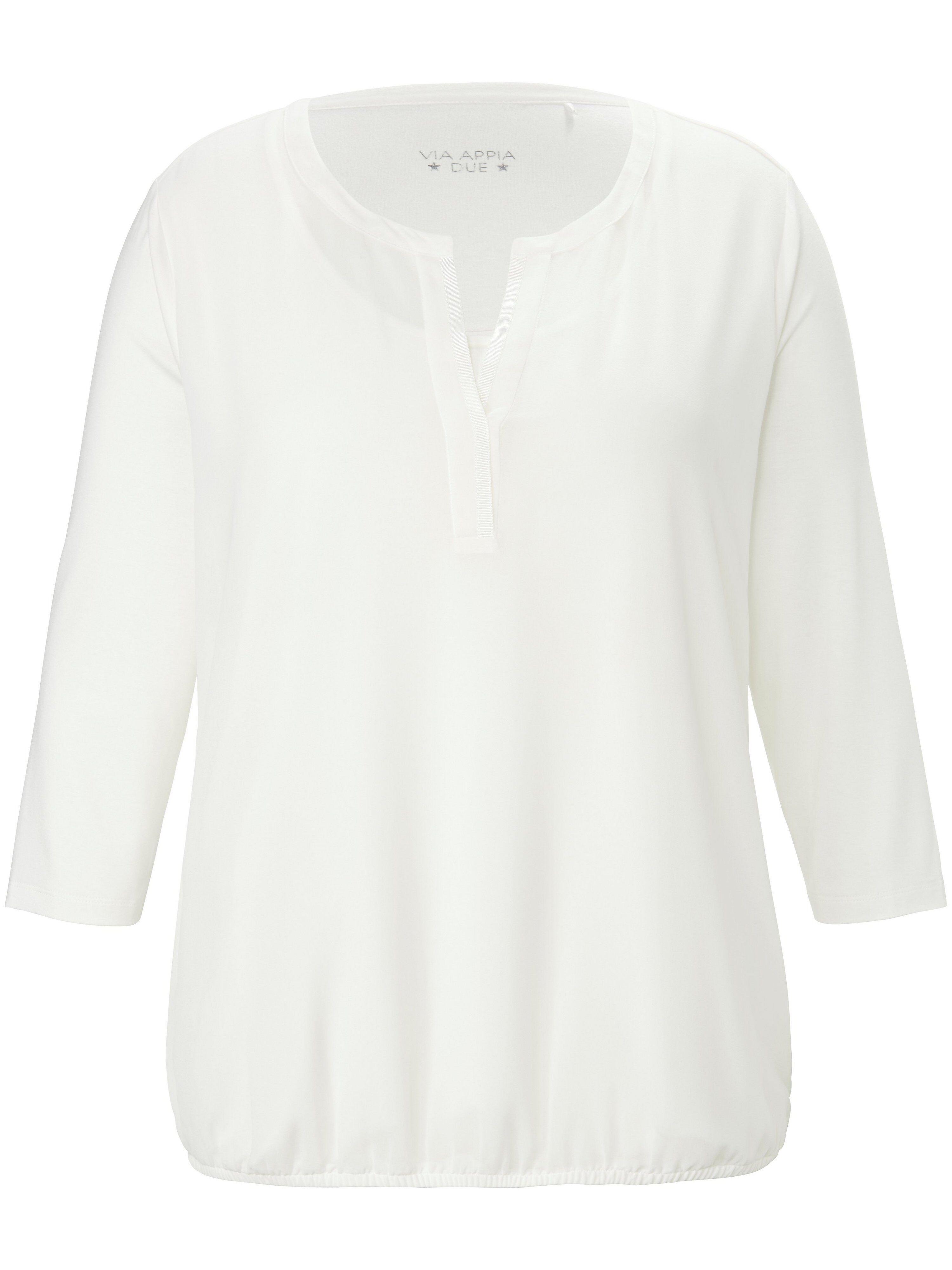 Via Le T-shirt manches 3/4  Via Appia Due blanc  - Femme - 48