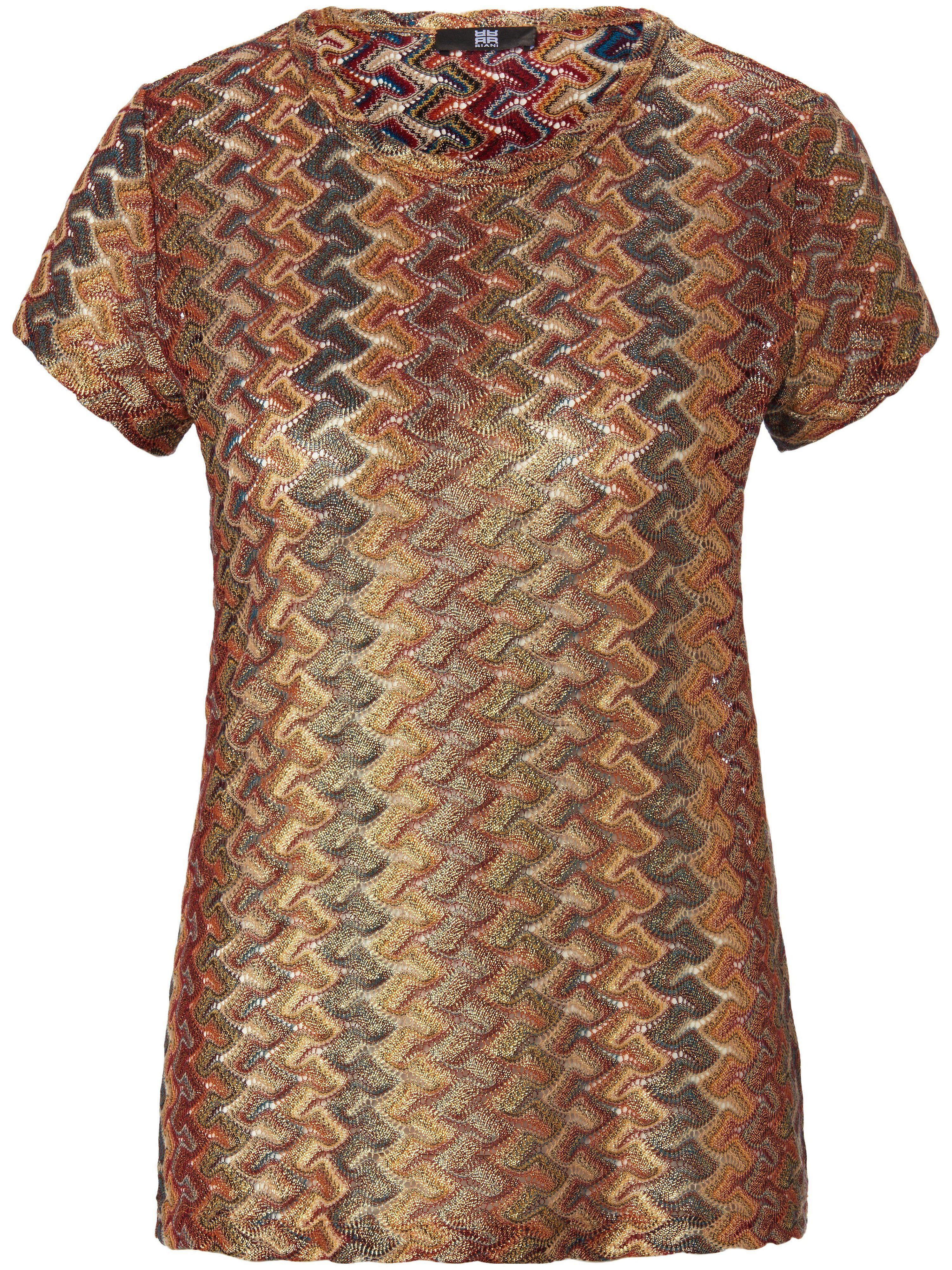 Riani Le T-shirt encolure ras-de-cou  Riani couleur or  - Femme - 38