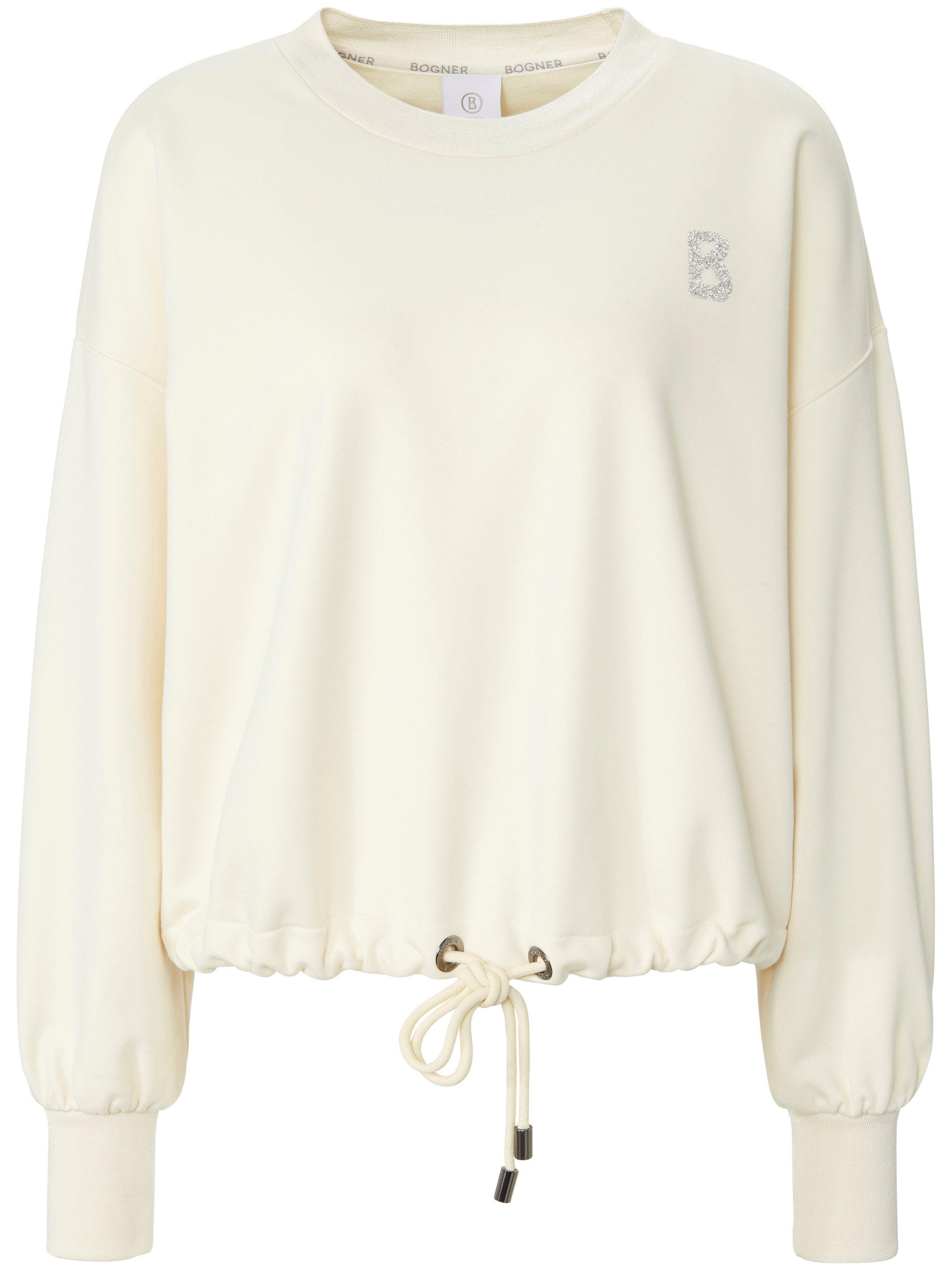 Bogner Le sweat-shirt ligne courte  Bogner blanc  - Femme - 46