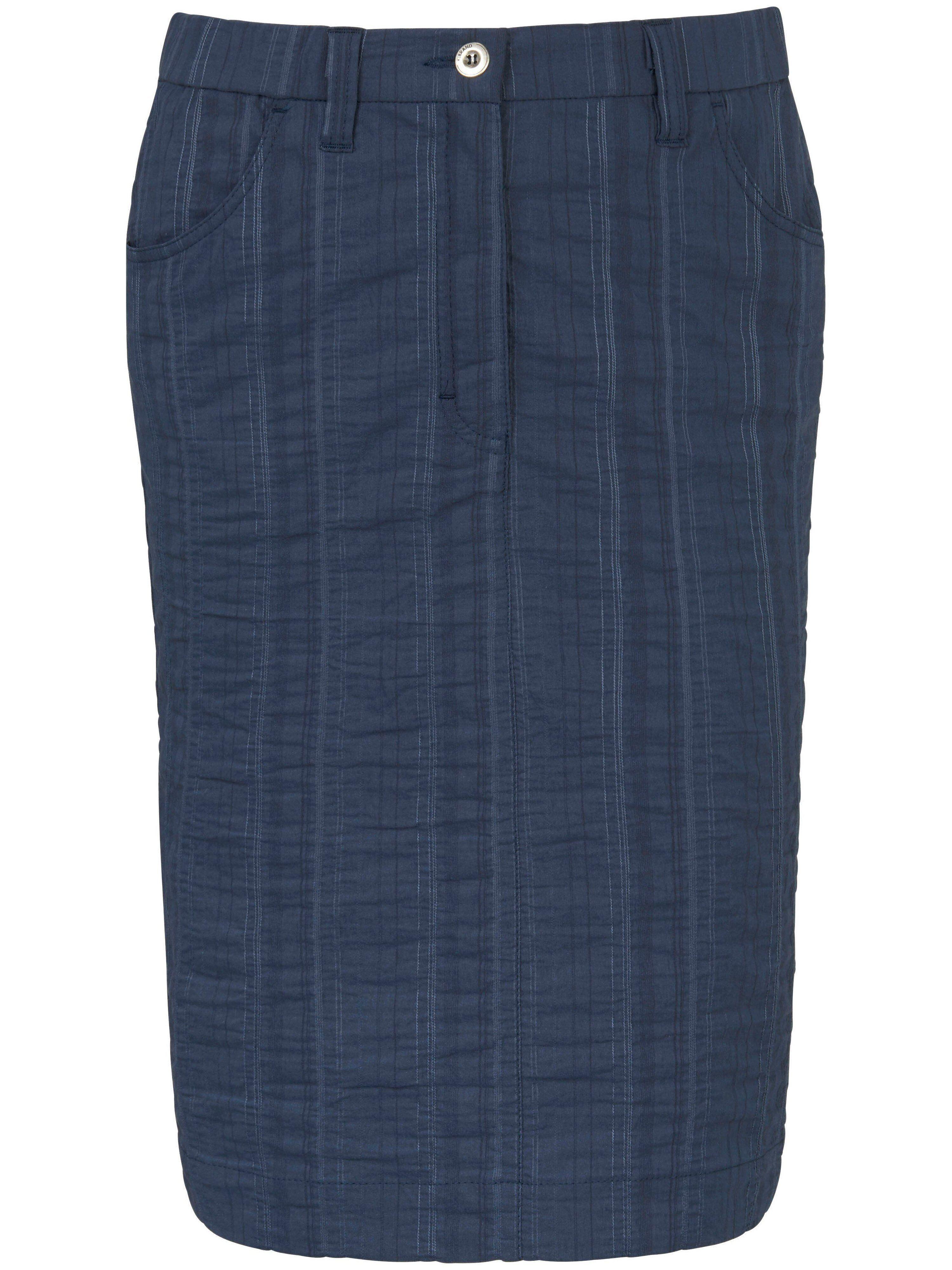 KjBrand La jupe Wash & Go, ligne droite  KjBrand bleu  - Femme - 42