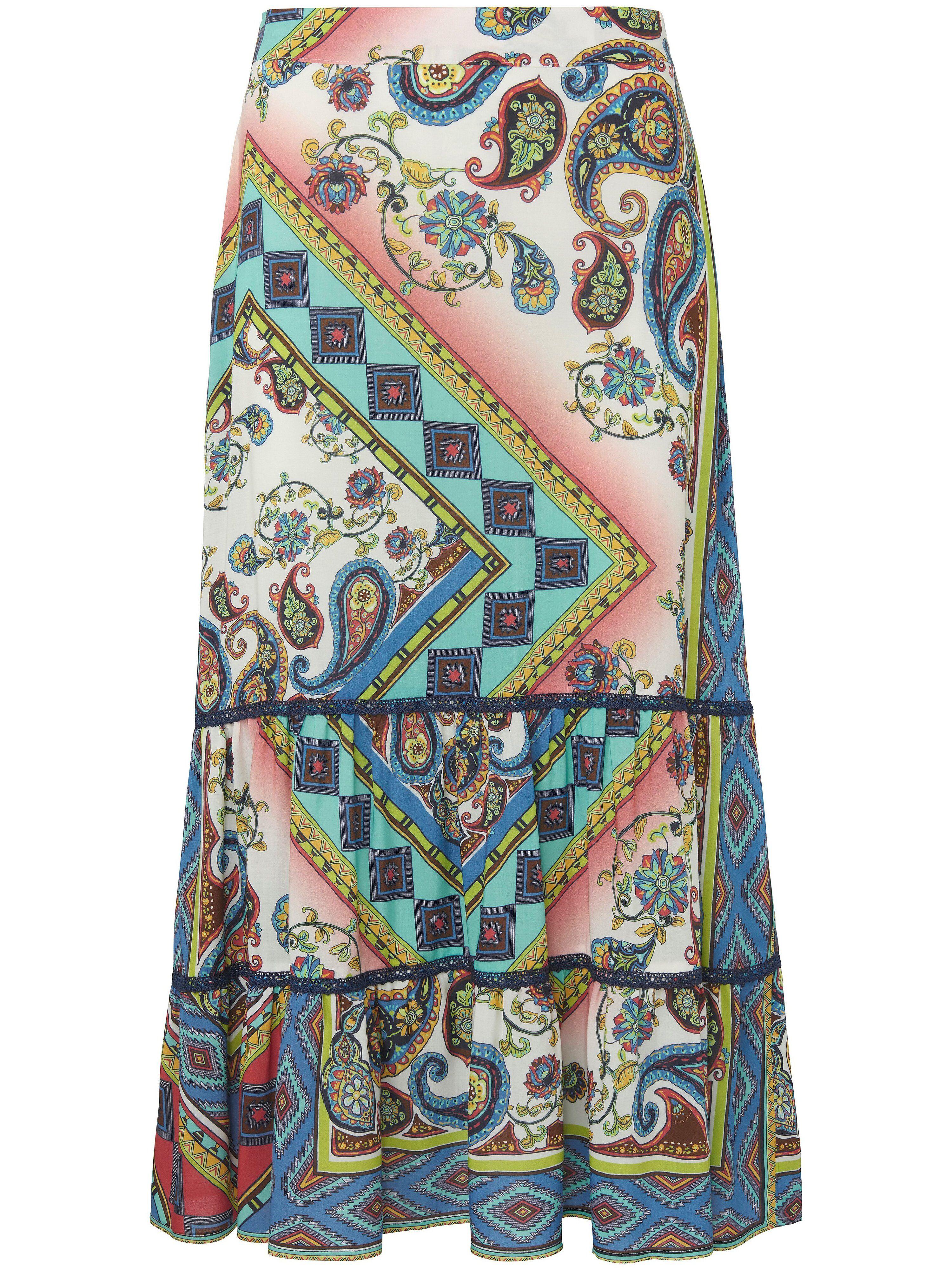 portray berlin La jupe travailée sur pans  portray berlin multicolore  - Femme - 38