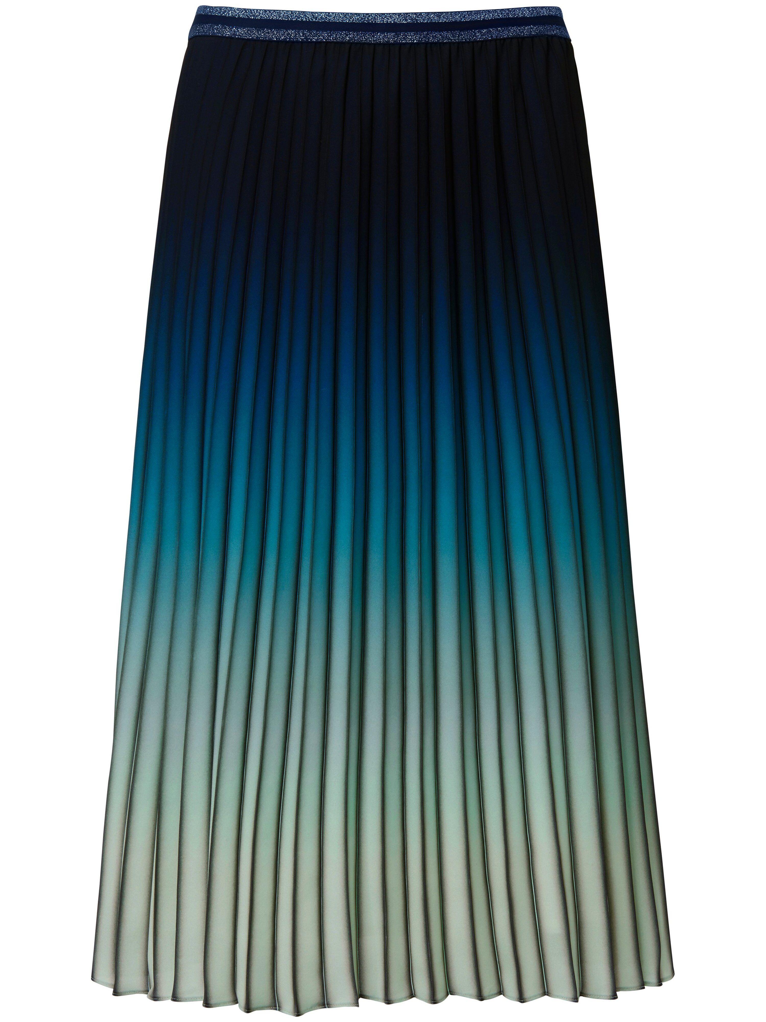 Basler La jupe plissée ligne ample  Basler bleu  - Femme - 42