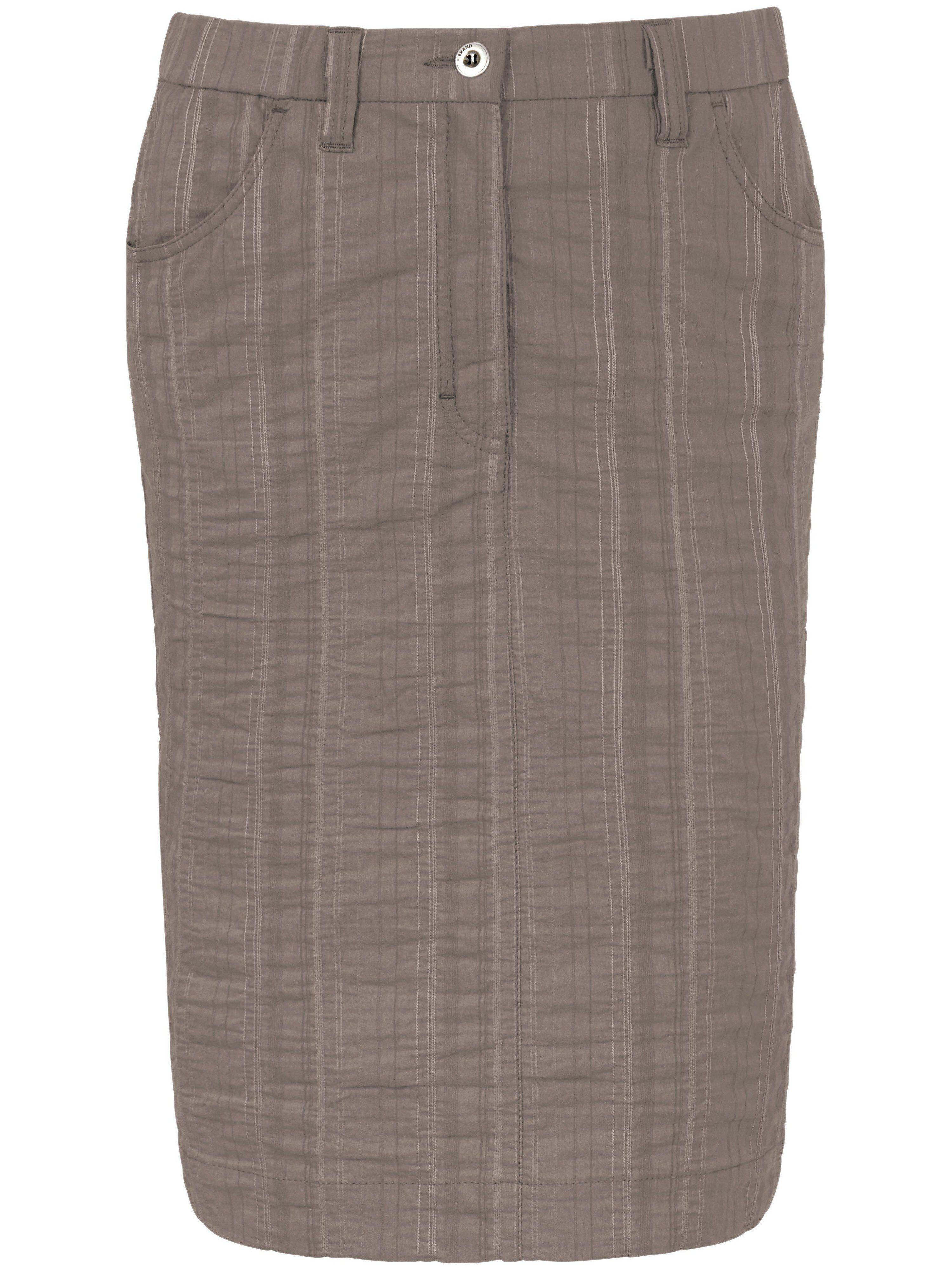 KjBrand La jupe Wash & Go, ligne droite  KjBrand beige  - Femme - 42
