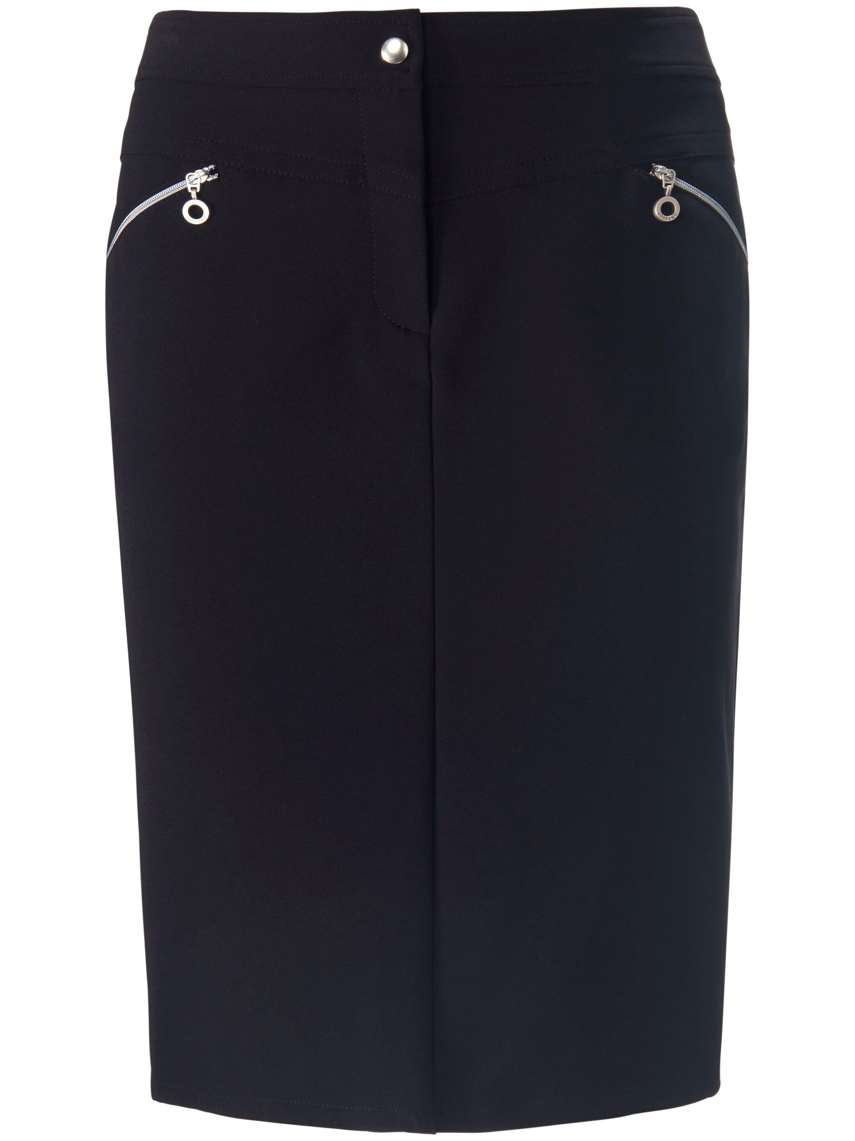 Looxent La jupe ligne droite  Looxent noir  - Femme - 38