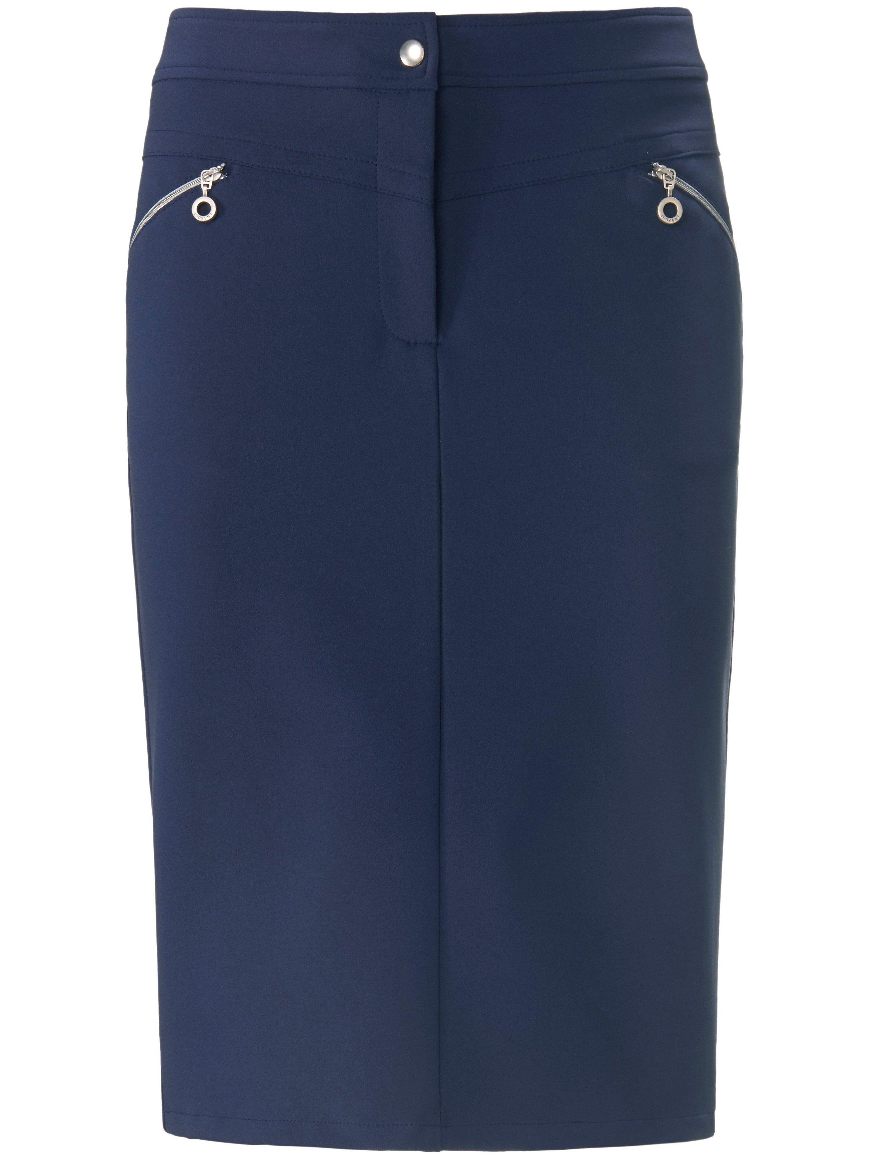 Looxent La jupe ligne droite  Looxent bleu  - Femme - 42