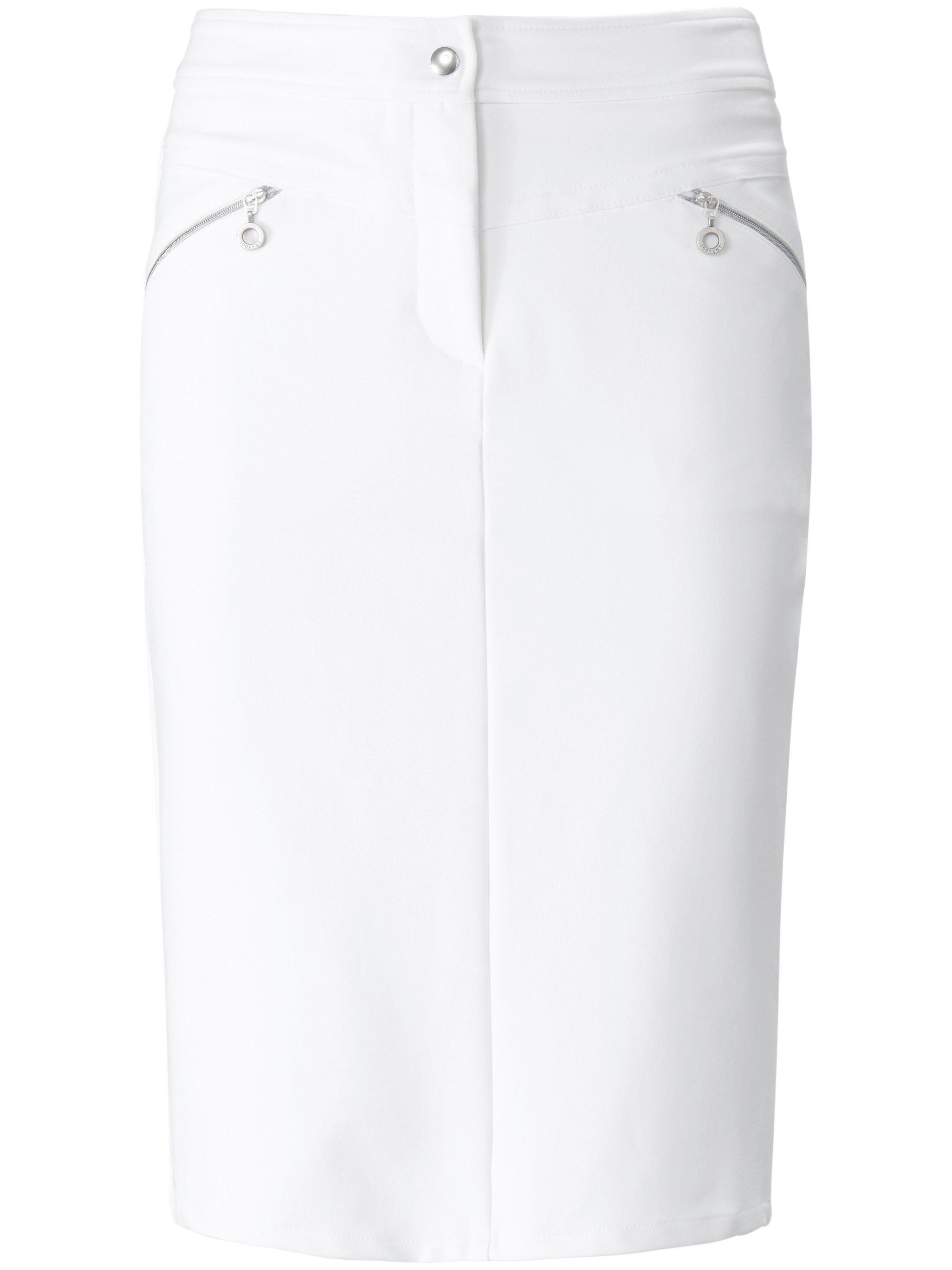 Looxent La jupe ligne droite  Looxent blanc  - Femme - 38