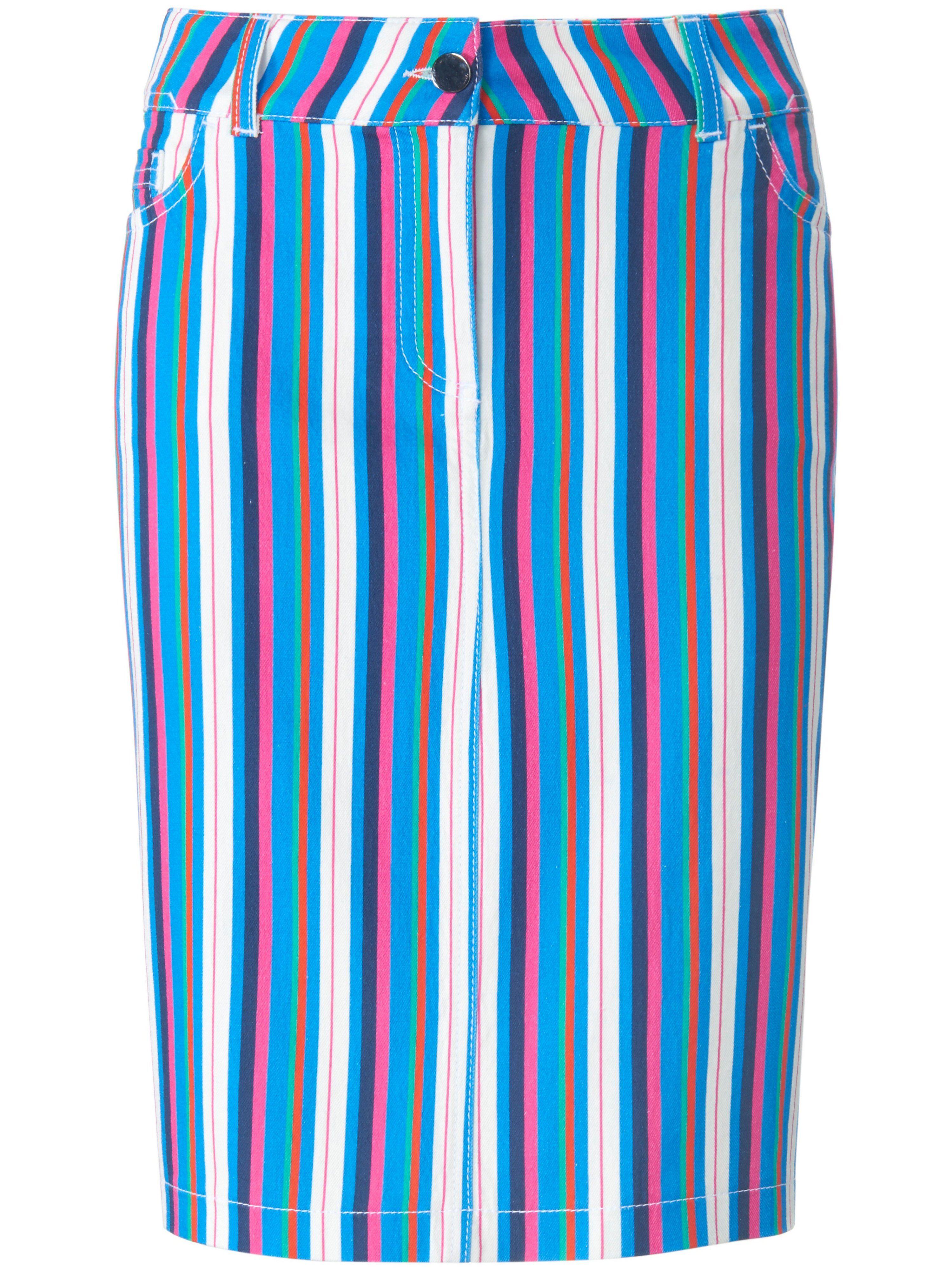 Looxent La jupe ligne droite  Looxent multicolore  - Femme - 38