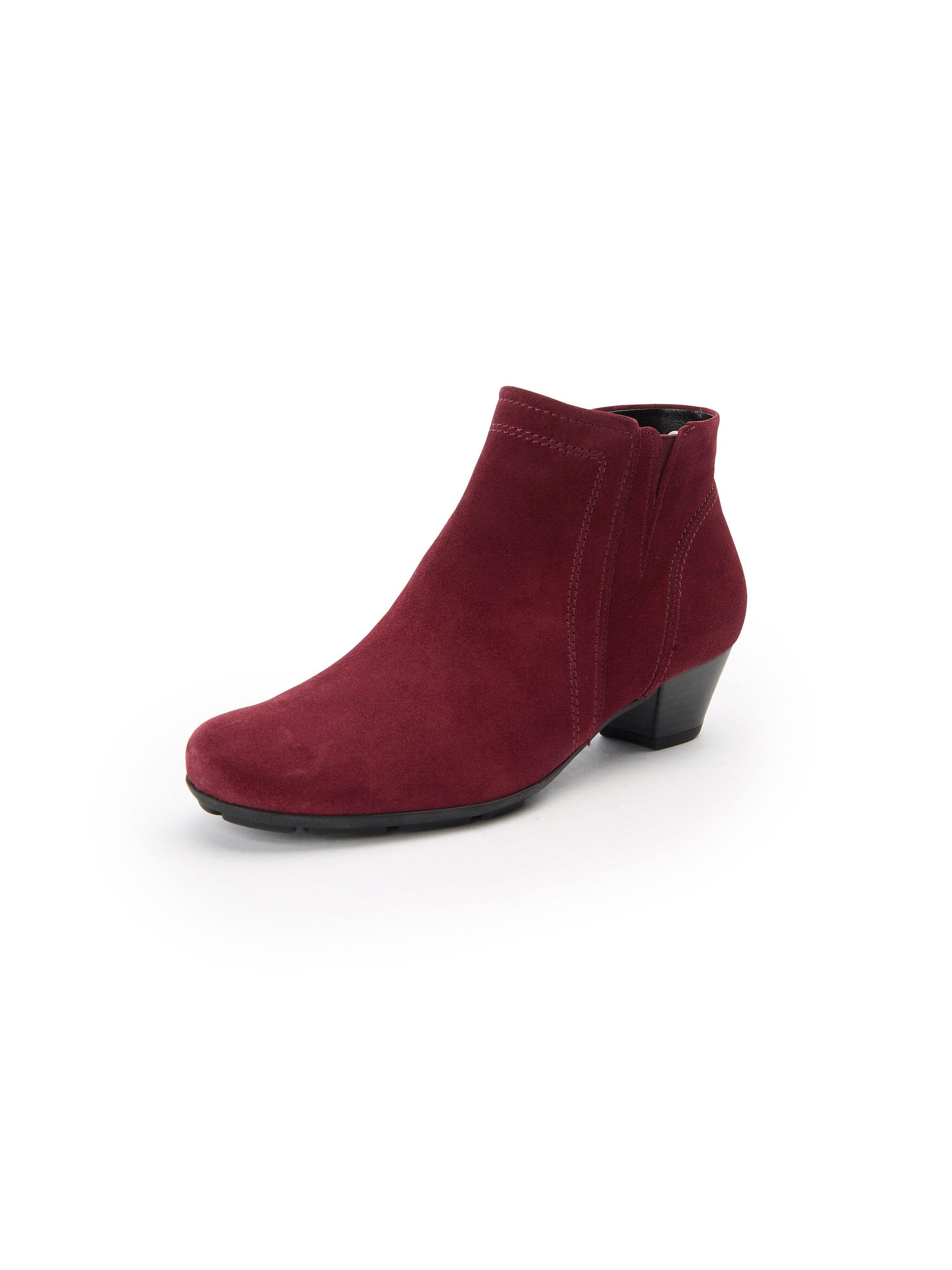 Gabor Les bottines 100% cuir  Gabor rouge  - Femme - 35