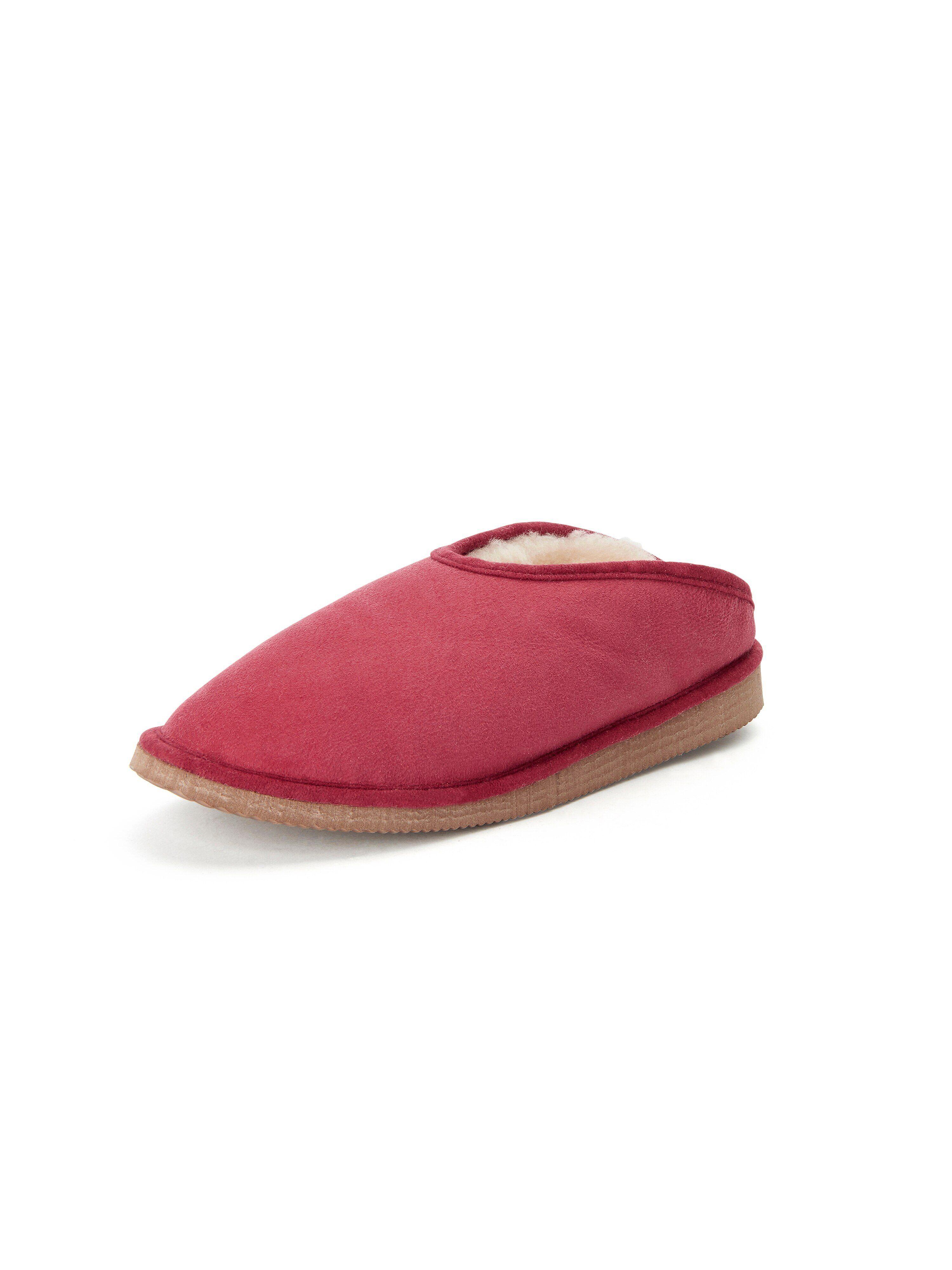 Kitzpichler Les chaussons Fatima en agneau lainé  Kitzpichler rouge  - Femme - 37