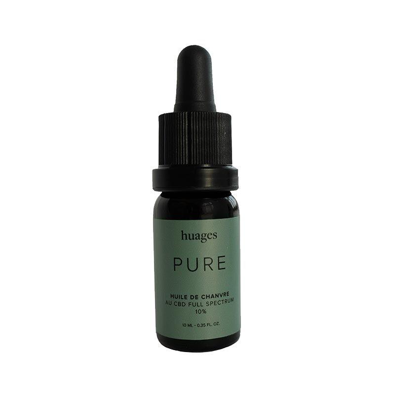 Pure Huile CBD PURE 10% - Huages