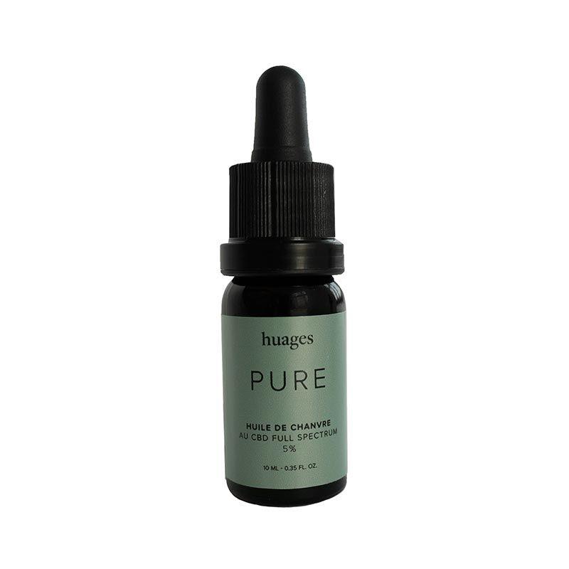 Pure Huile CBD PURE 5% - Huages