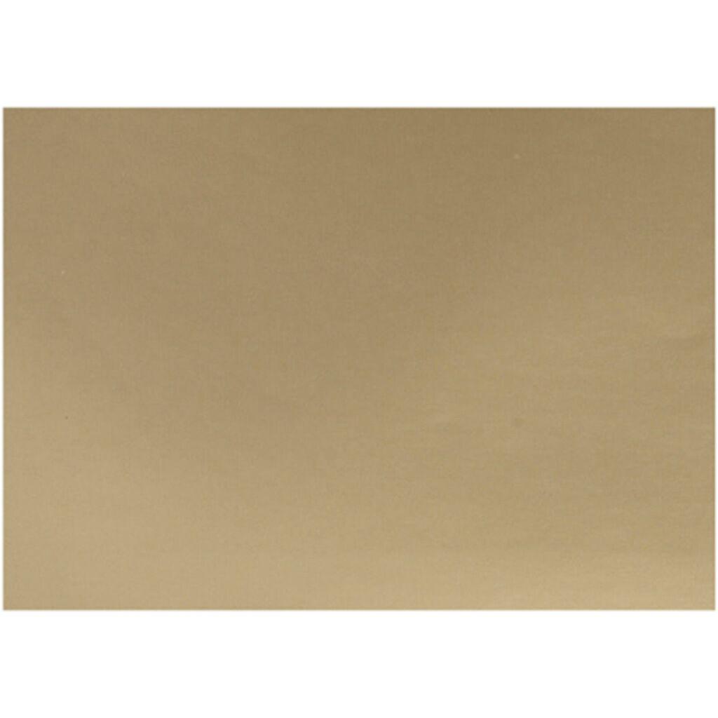 Creativ Company Papier glacé, 32x48 cm, 80 gr, or, 25 flles/ 1 Pq.