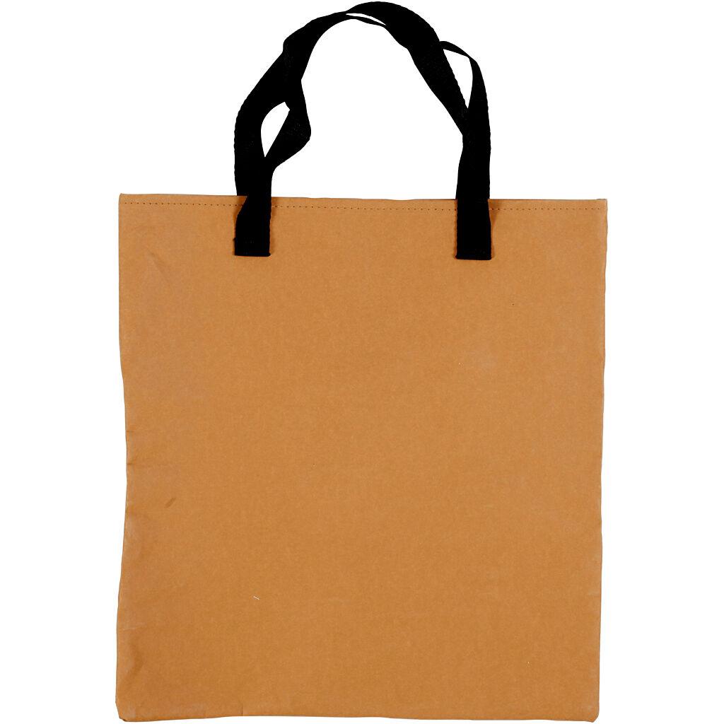 Creativ Company Sac de courses, dim. 35x38 cm, brun clair, 1 pièce