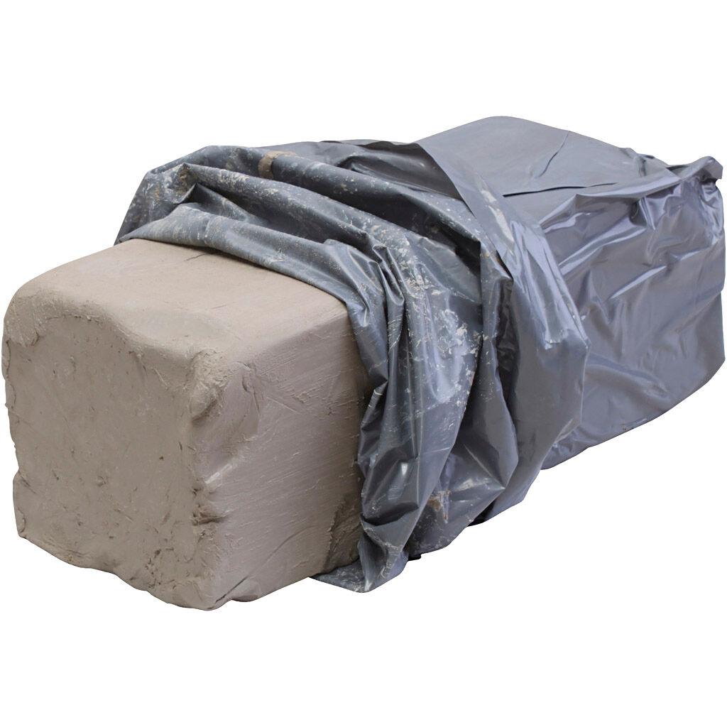 Creativ Company Argile en grès blanc, 10 kg/ 1 Pq.