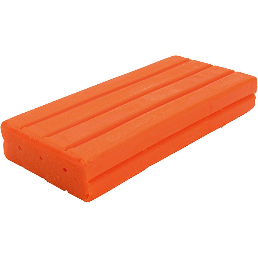 Creativ Company Pâte à modeler Softy, orange, 500 gr/ 1 Pq.