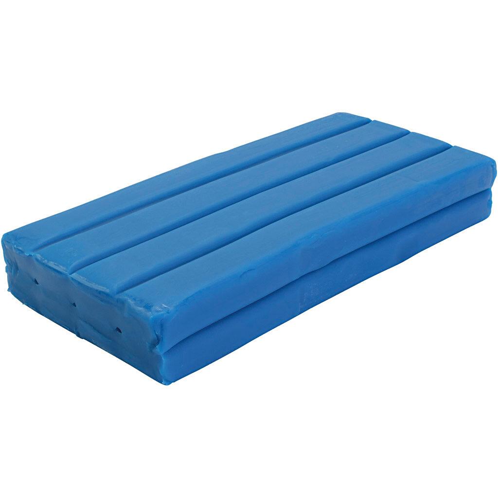Creativ Company Pâte à modeler Softy, bleu, 500 gr/ 1 Pq.