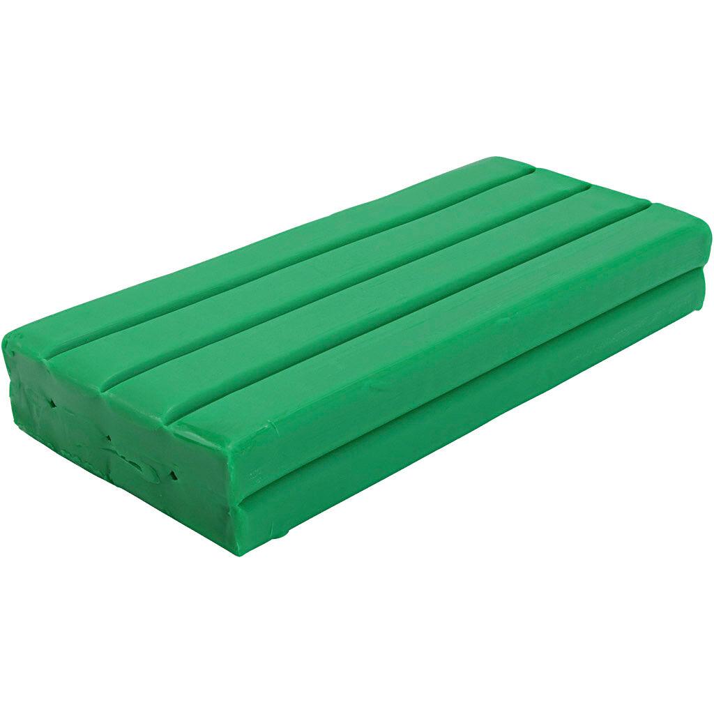 Creativ Company Pâte à modeler Softy, vert, 500 gr/ 1 Pq.