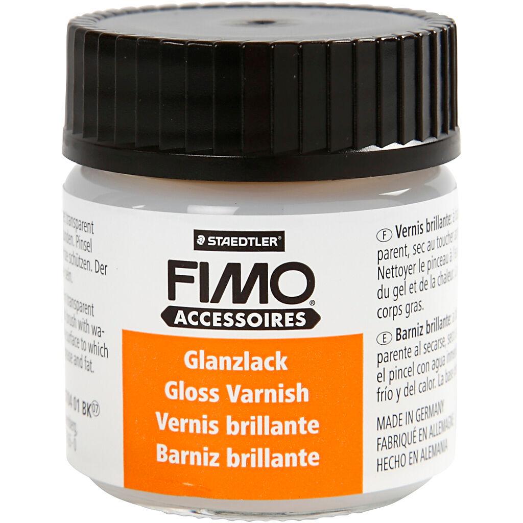 Fimo Laque Fimo®, Brillant Transparent, 35 ml, 1 Flacon