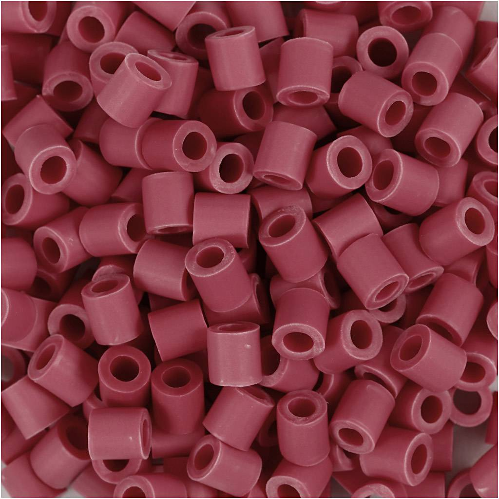Nabbi Perles Nabbi Bio, dim. 5x5 mm, medium, rouge, 3000 pièce/ 1 Pq.