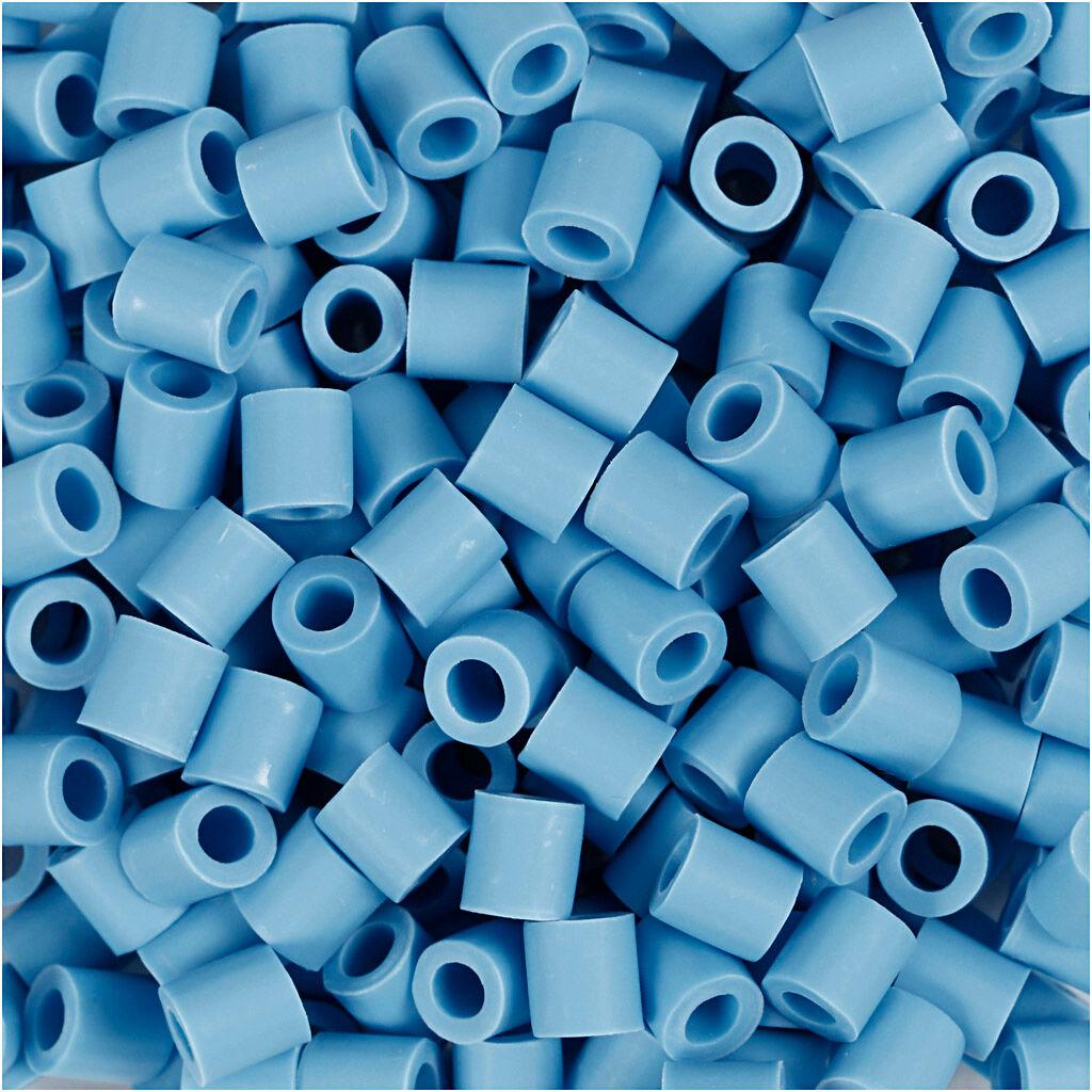 Nabbi Perles Nabbi Bio, dim. 5x5 mm, medium, bleu, 3000 pièce/ 1 Pq.