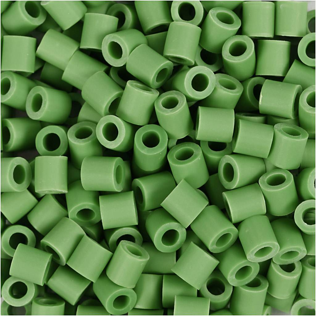 Nabbi Perles Nabbi Bio, dim. 5x5 mm, medium, vert, 3000 pièce/ 1 Pq.