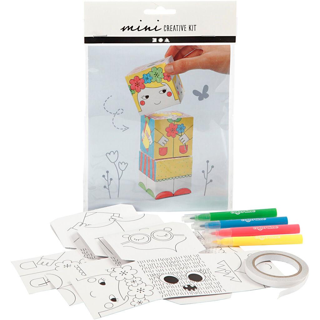 Creativ Company Mini Kit Créatif, Princesses, 1 Set