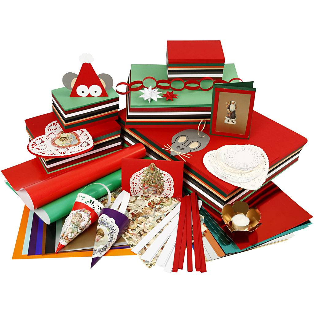 Creativ Company Noël traditionnel à bon prix, couleurs assorties, 1 set