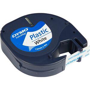 Creativ Company DYMO Ruban plastique, L: 4 m, L: 12 mm, blanc, 4 m/ 1 rouleau - Publicité