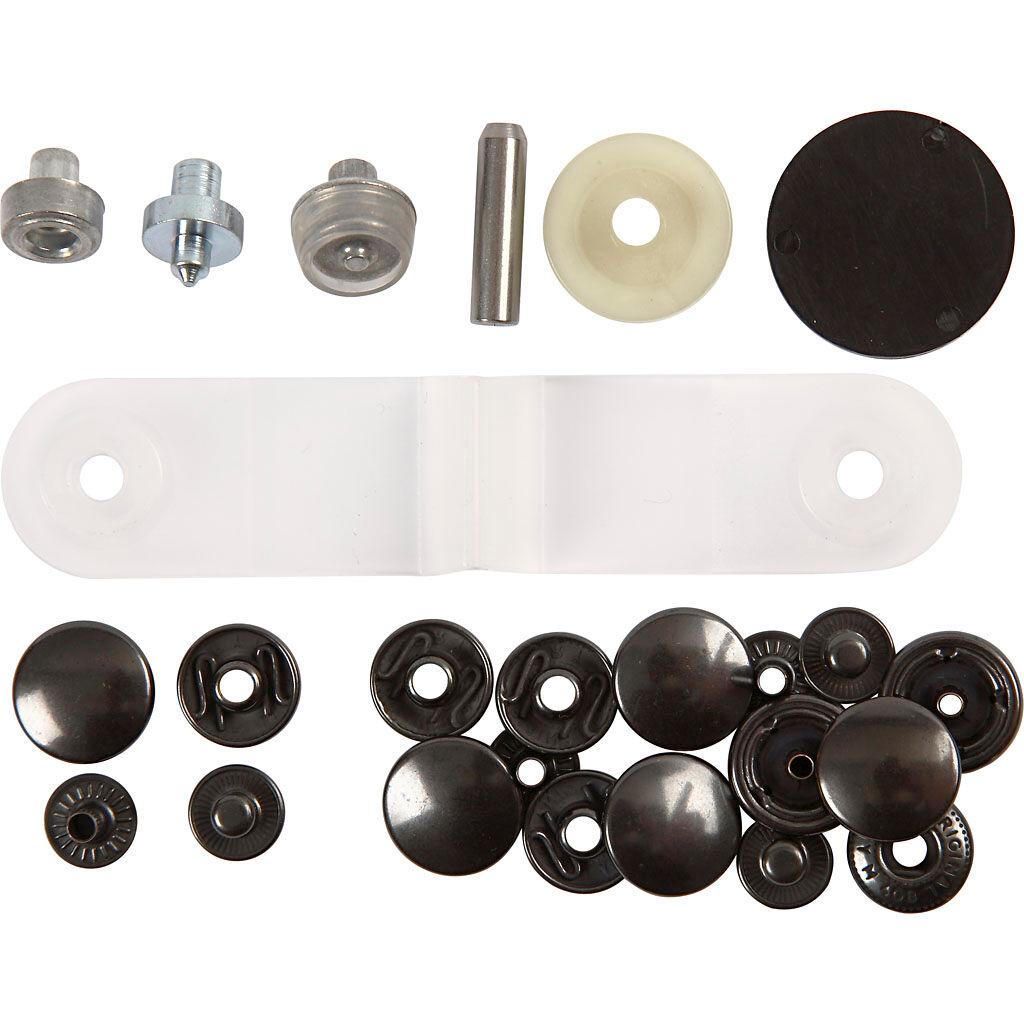 Prym Boutons pression - Starter set, d: 15 mm, 1 set