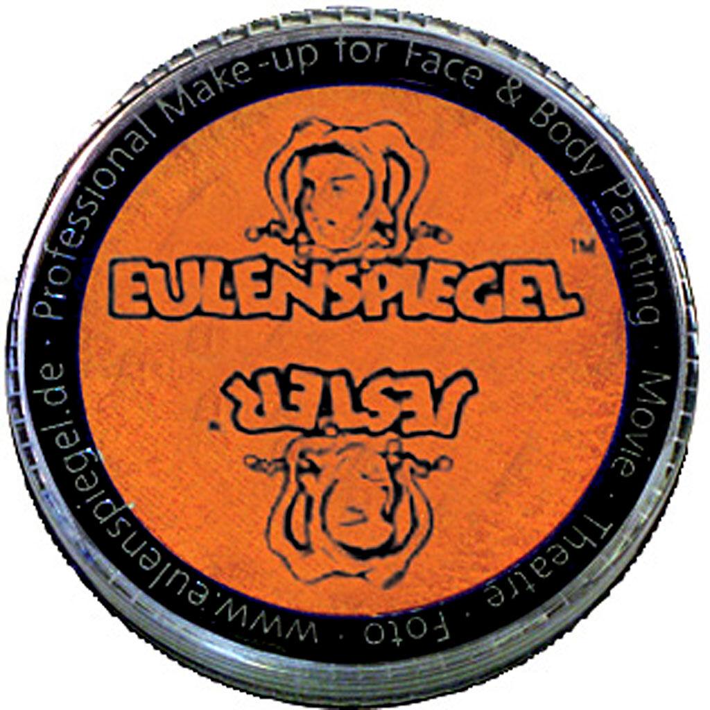 Eulenspiegel Maquillage visage à base d'eau, pearlised orange, 20 ml/ 1 Pq.