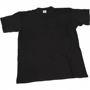 Creativ Company T-shirt, L: 55 cm, dim. large , col rond, noir, 1 pièce - Publicité