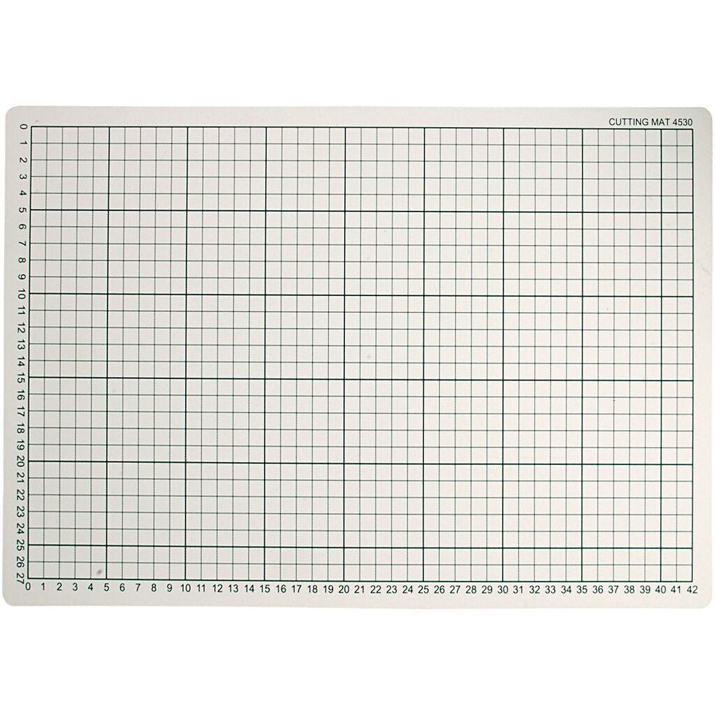 Creativ Company Tapis de coupe, dim. 30x45 cm, ép. 3 mm, 1 pièce