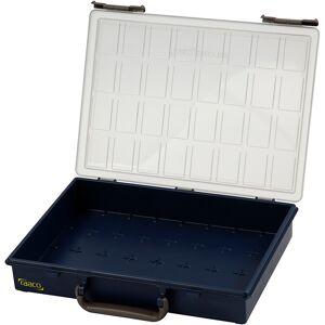 Raaco Valisette de rangement, Sans godets de séparation, H: 8 cm, dim. 33,8x26,1 cm, 1 pièce - Publicité