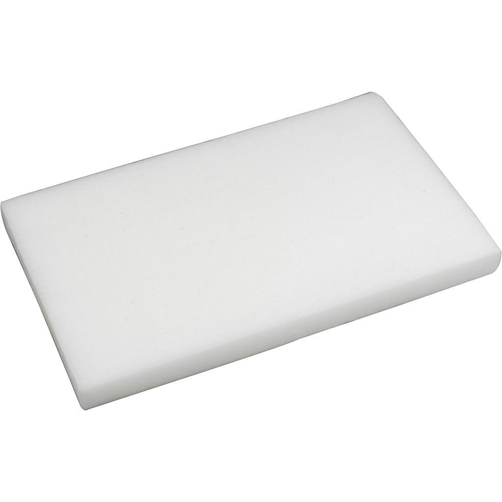 Creativ Company Cire de fromage, blanc, 5 kg/ 1 Pq.