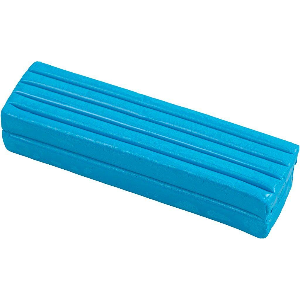 Creativ Company Pâte À Modeler Douce, 13x6x4 cm, Bleu, 500 gr, 1 Pq.